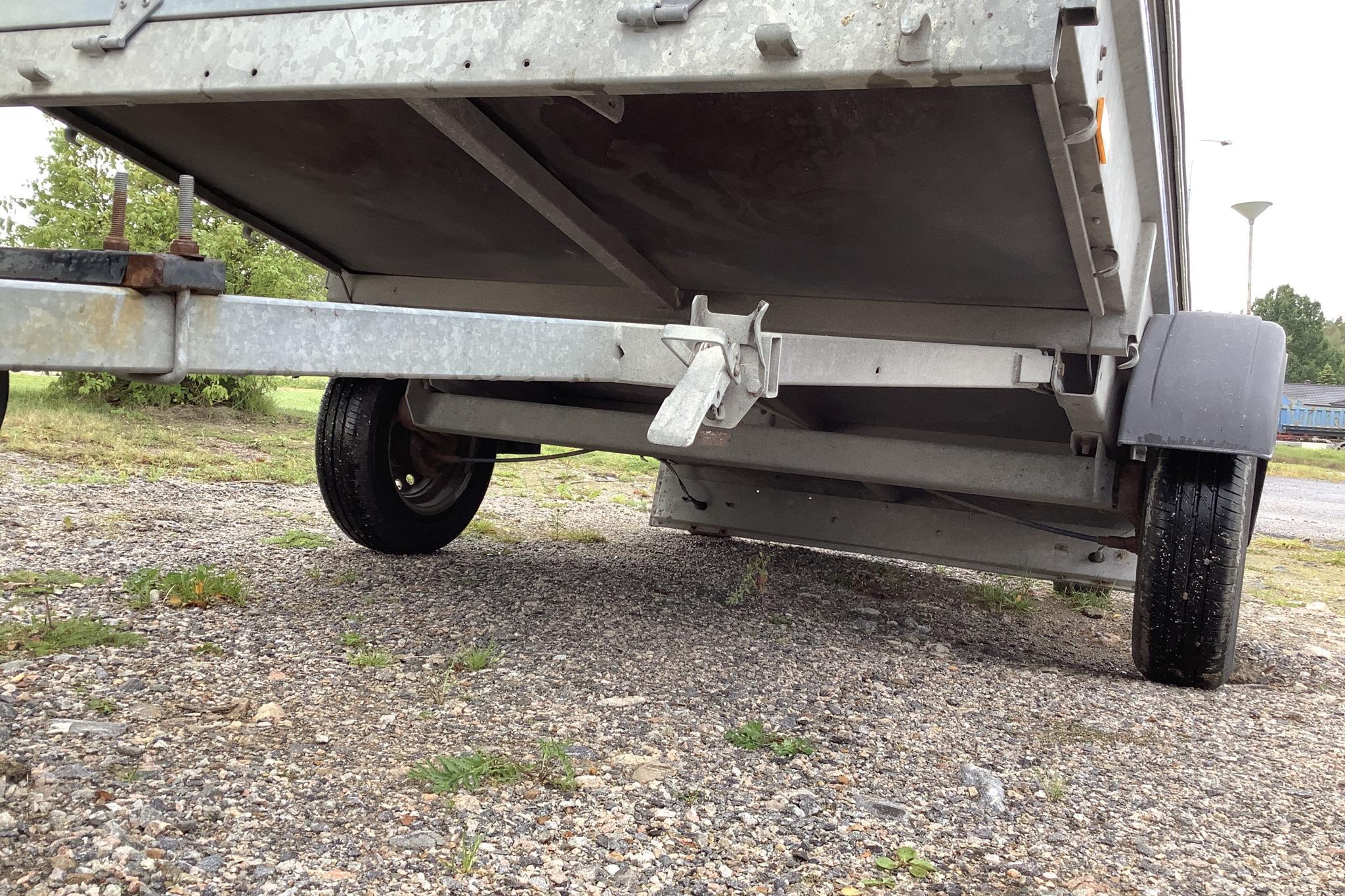 THULE / FOGELSTA R0900 Kåpsläpvagn med tippfunktion - 0 km - gray - 2010