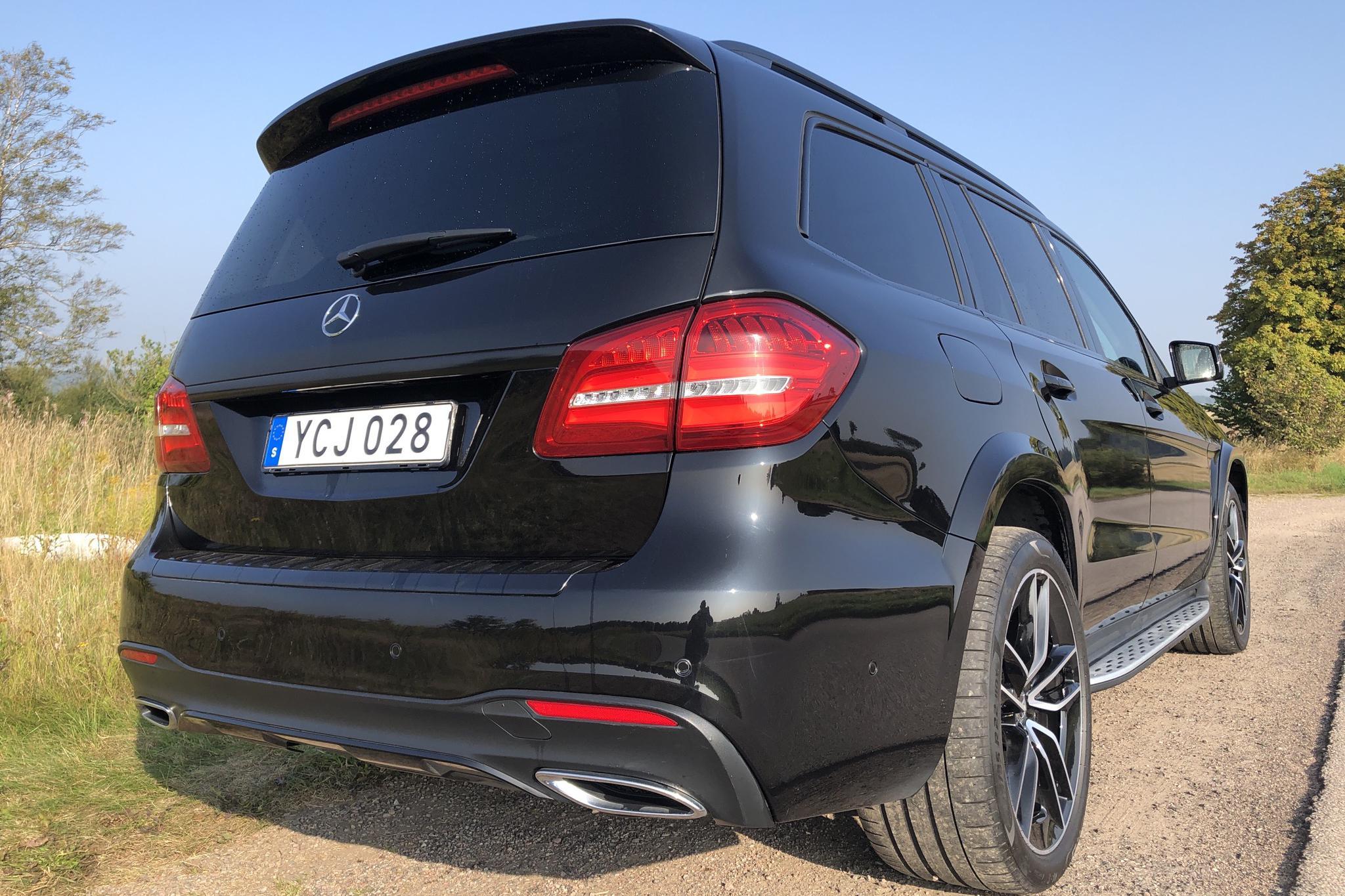 Mercedes GLS 350 d 4MATIC X166 (258hk) - 93 350 km - Automatic - black - 2016