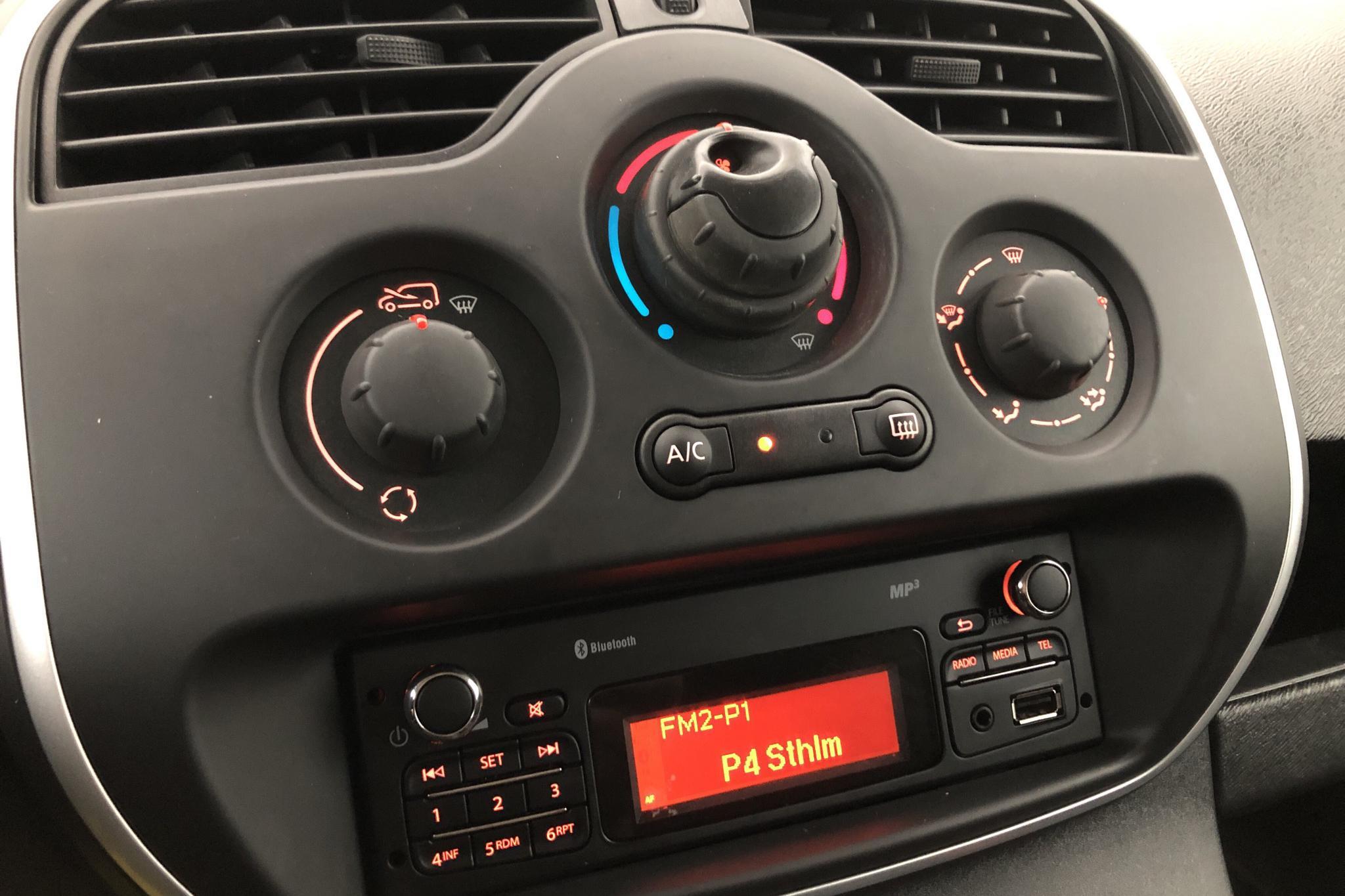 Renault Kangoo 1.5 dCi Skåp (90hk) - 107 470 km - Manual - white - 2015