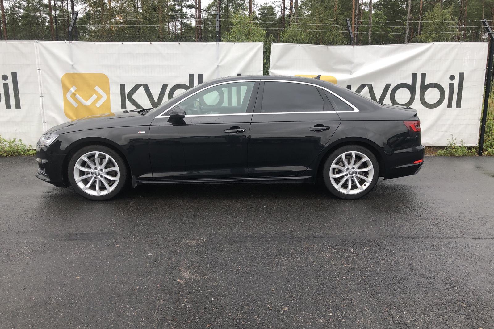 Audi A4 2.0 TFSI (190hk) - 2 517 mil - Automat - svart - 2018