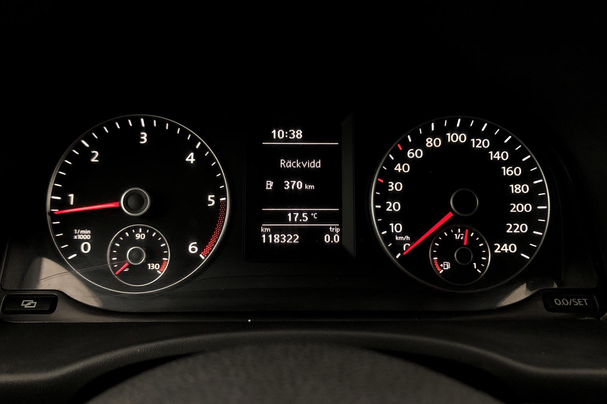 VW Caddy 1.6 TDI Skåp (75hk) - 118 320 km - Manual - white - 2012
