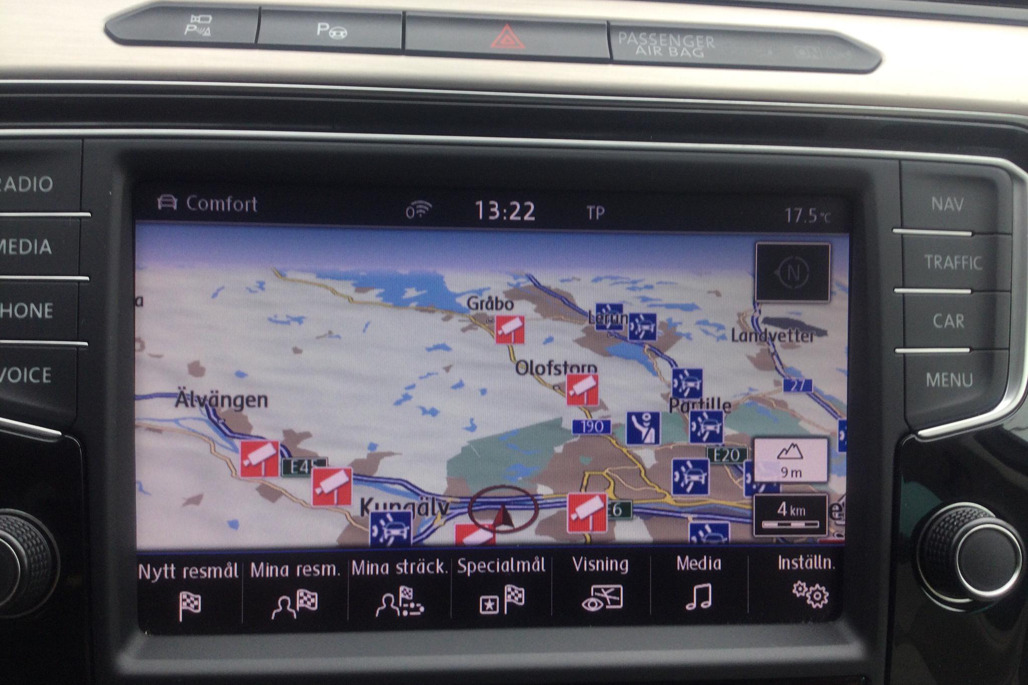 VW Passat 2.0 TDI BiTurbo 4MOTION (240hk) - 13 569 mil - Automat - vit - 2016