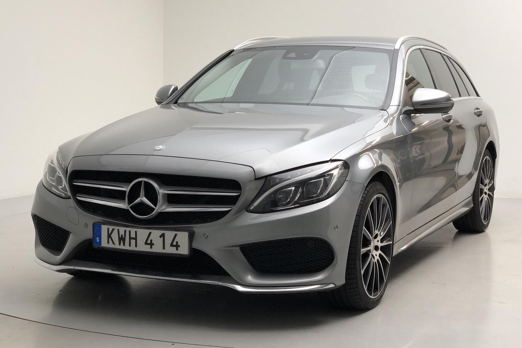 Mercedes C 250 d 4MATIC Kombi S205 (204hk) - 11 774 mil - Automat - silver - 2015