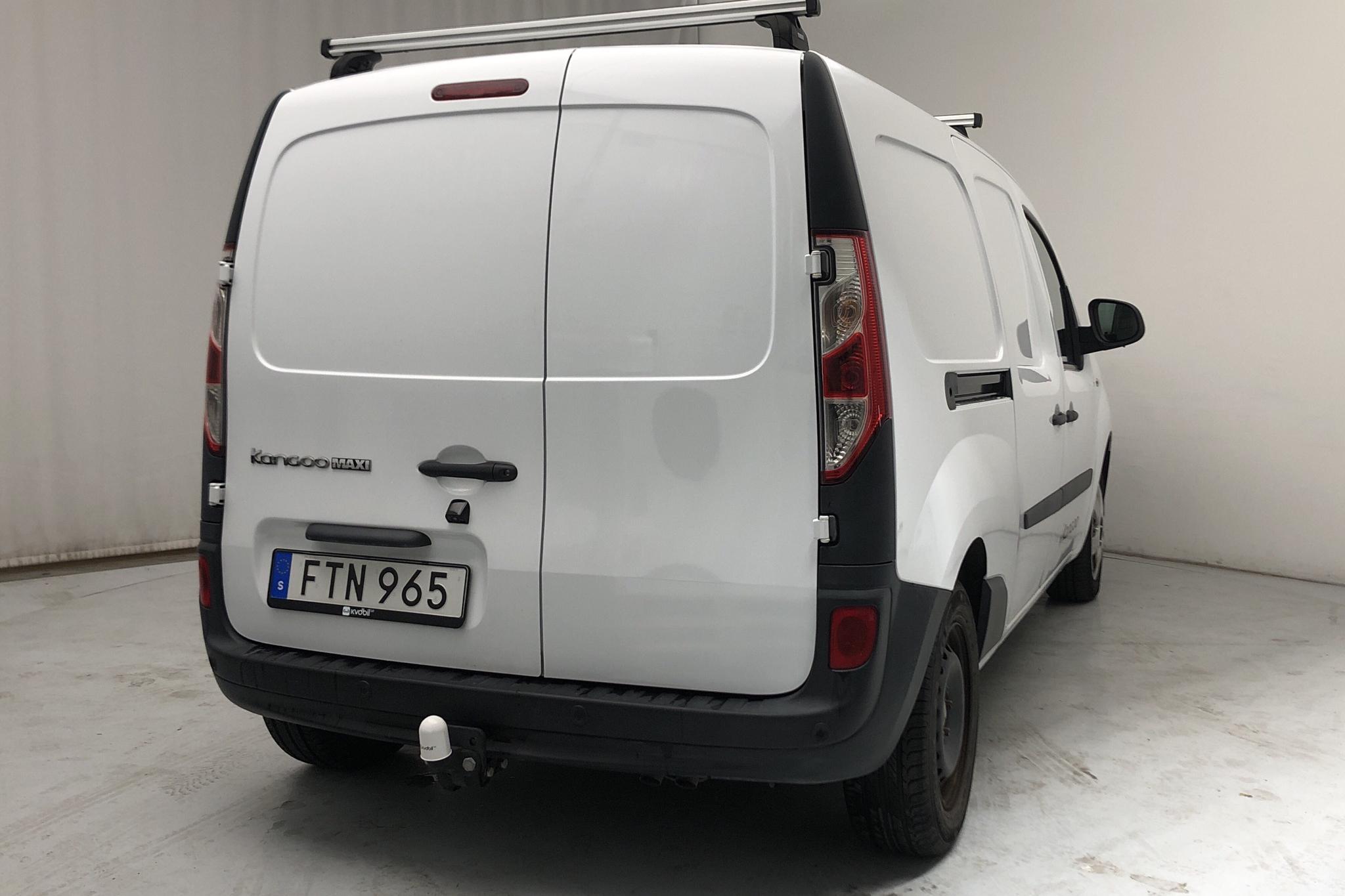 Renault Kangoo 1.5 dCi Maxi Skåp (110hk) - 3 446 mil - Manuell - vit - 2017