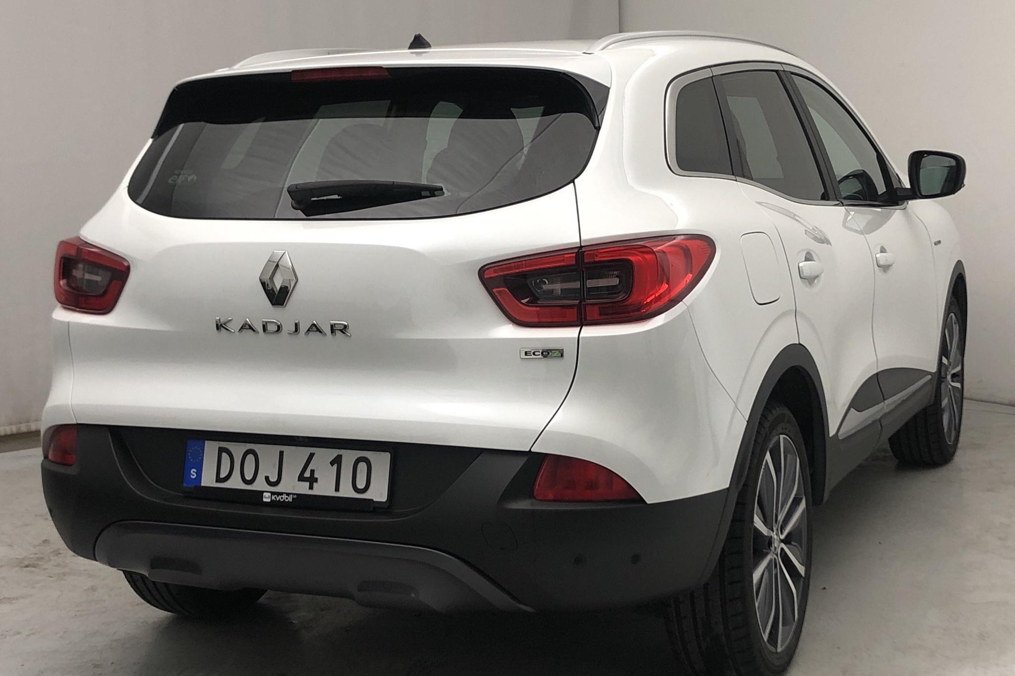 Renault Kadjar 1.5 dCi (110hk) - 9 508 mil - Automat - vit - 2016
