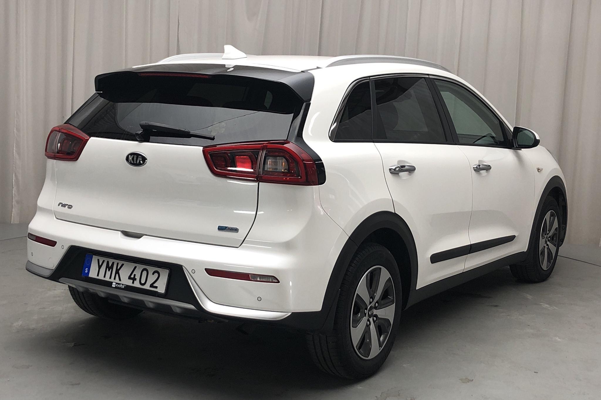 KIA Niro Hybrid 1.6 (141hk) - 64 070 km - Automatic - white - 2017