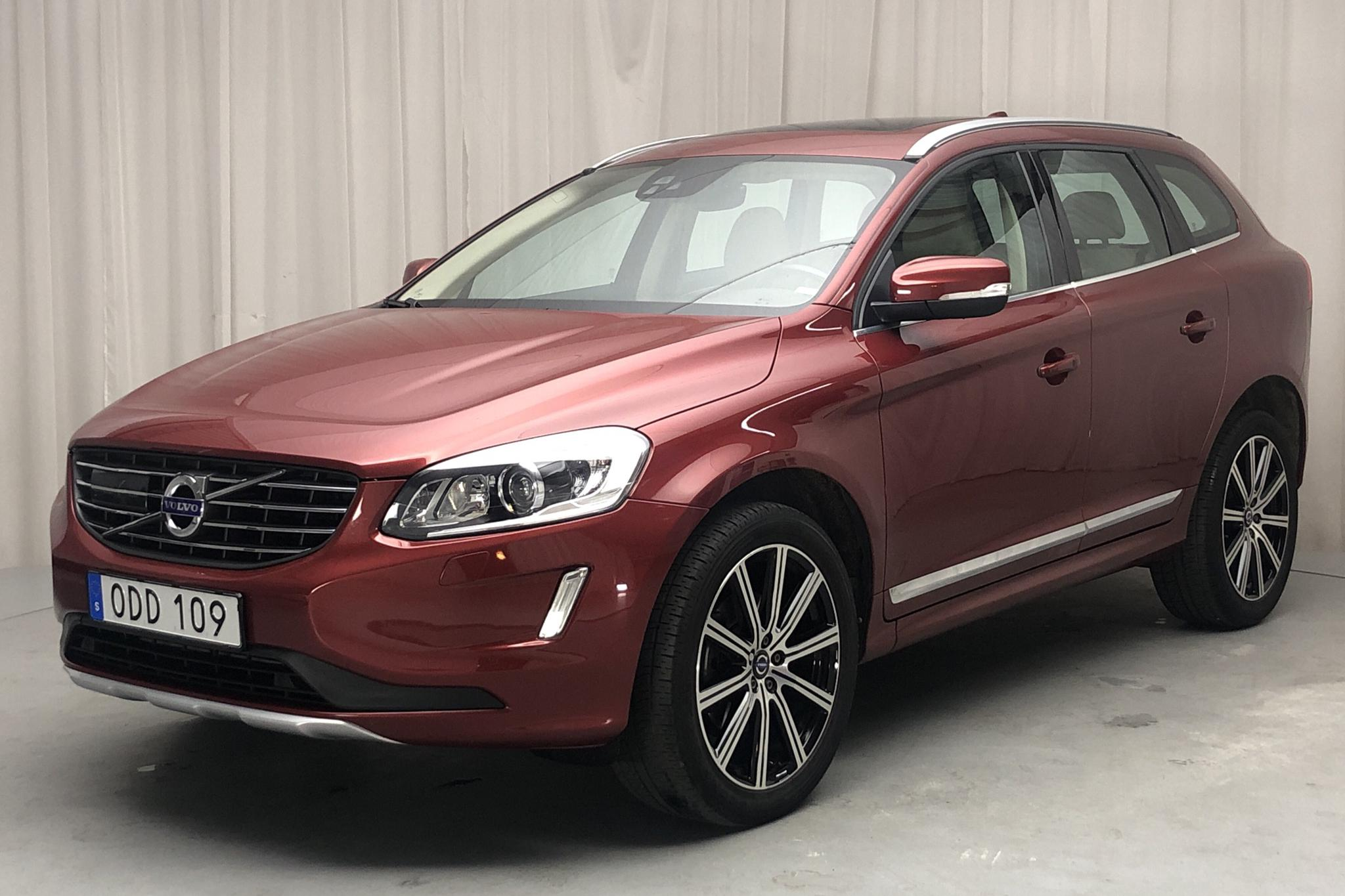 Volvo XC60 D4 AWD (190hk) - 66 390 km - Automatic - red - 2017