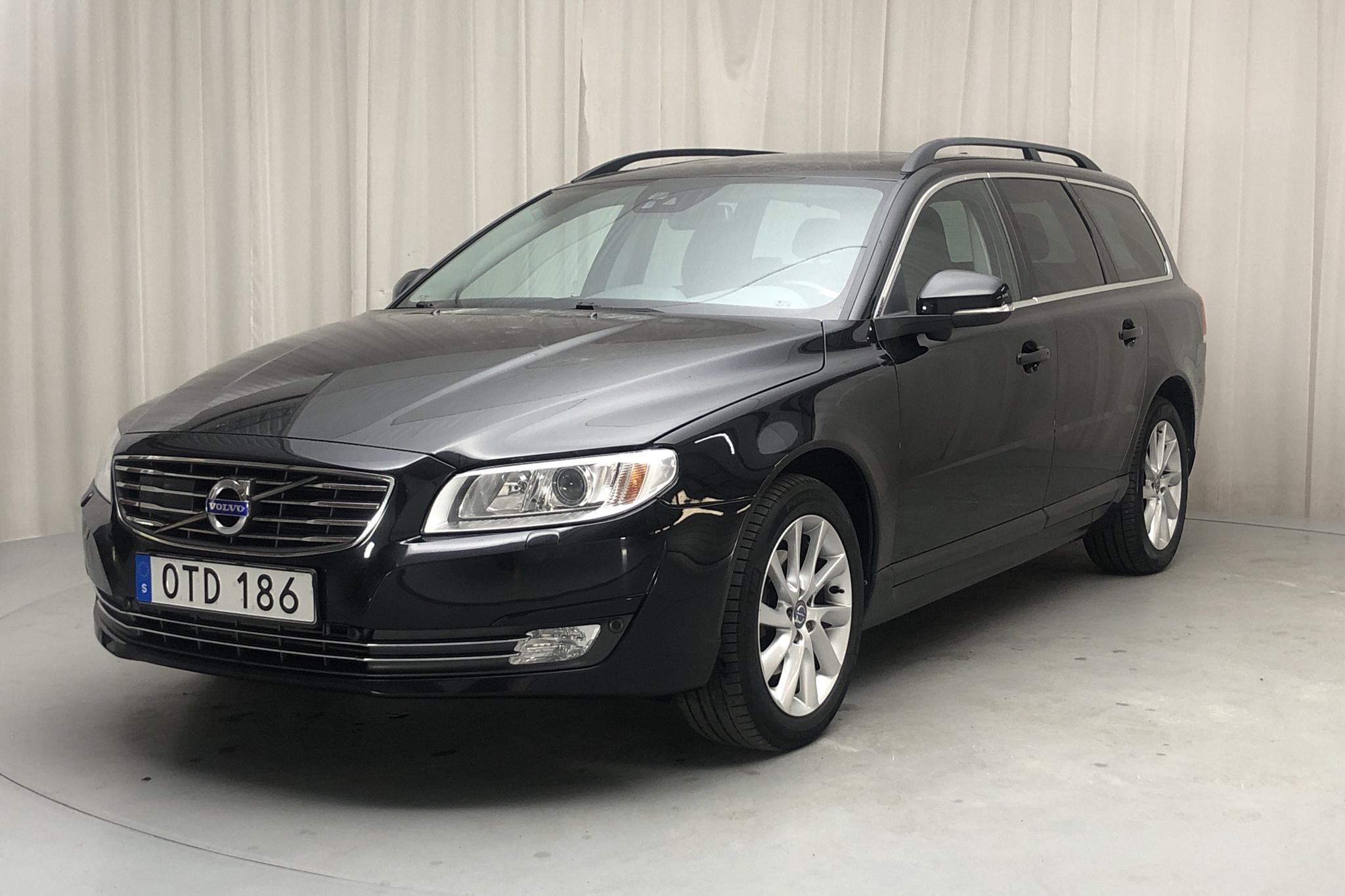 Volvo V70 II D4 (181hk) - 9 493 mil - Automat - svart - 2015