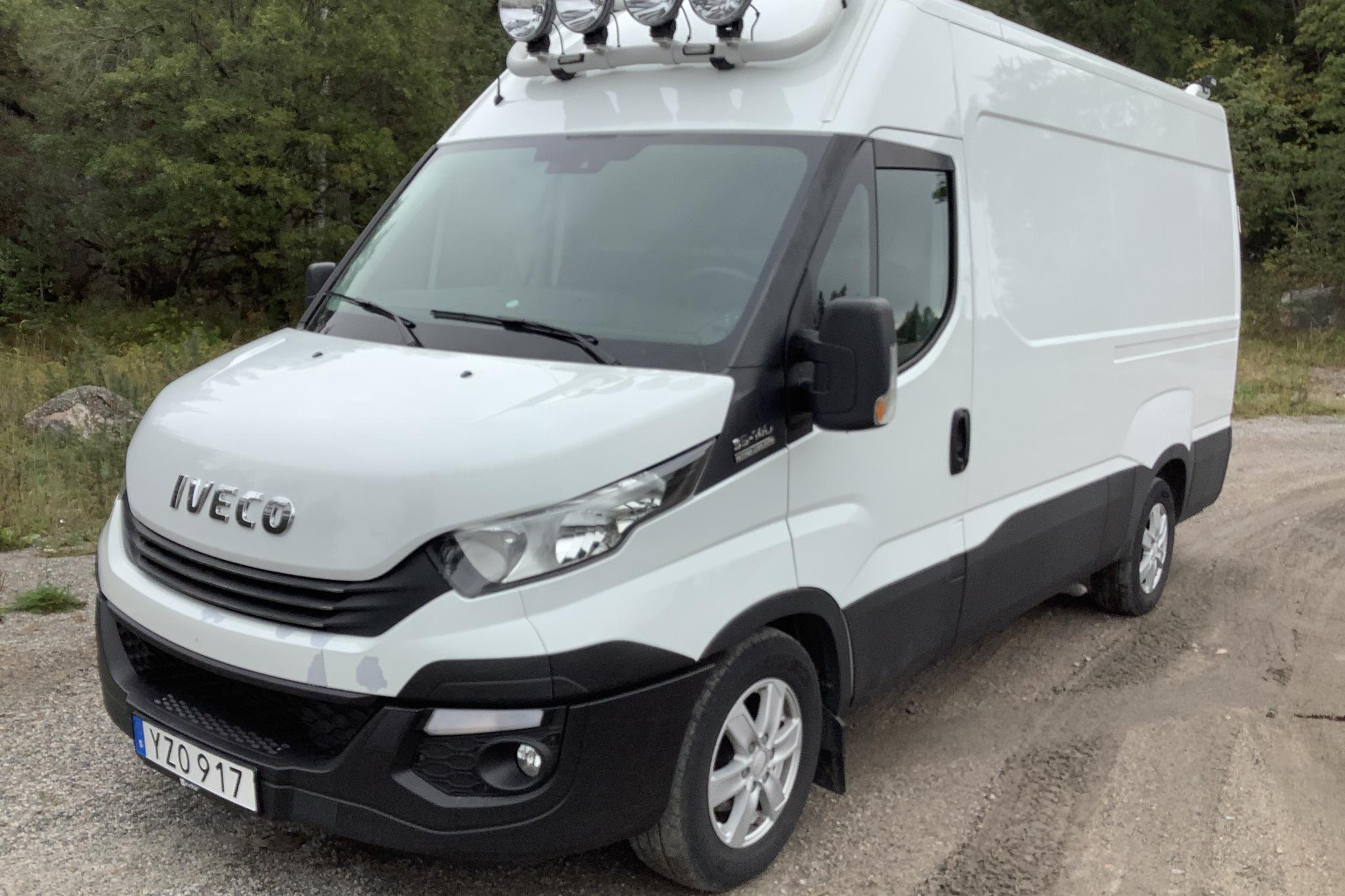 Iveco Daily 35 2.3 (136hk) - 53 760 km - Automatic - white - 2018