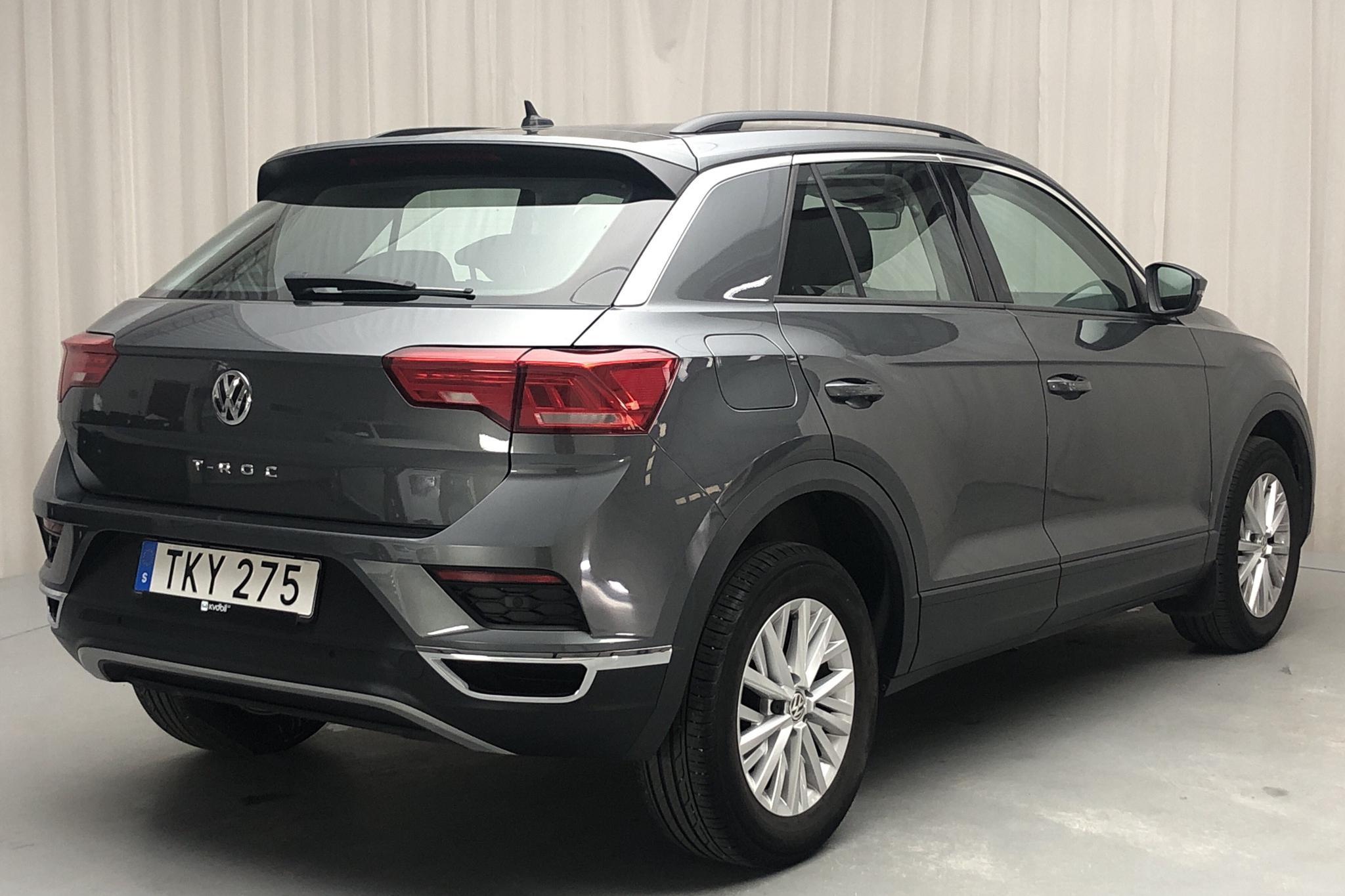 VW T-Roc 1.0 TSI (115hk) - 35 350 km - Manual - gray - 2018