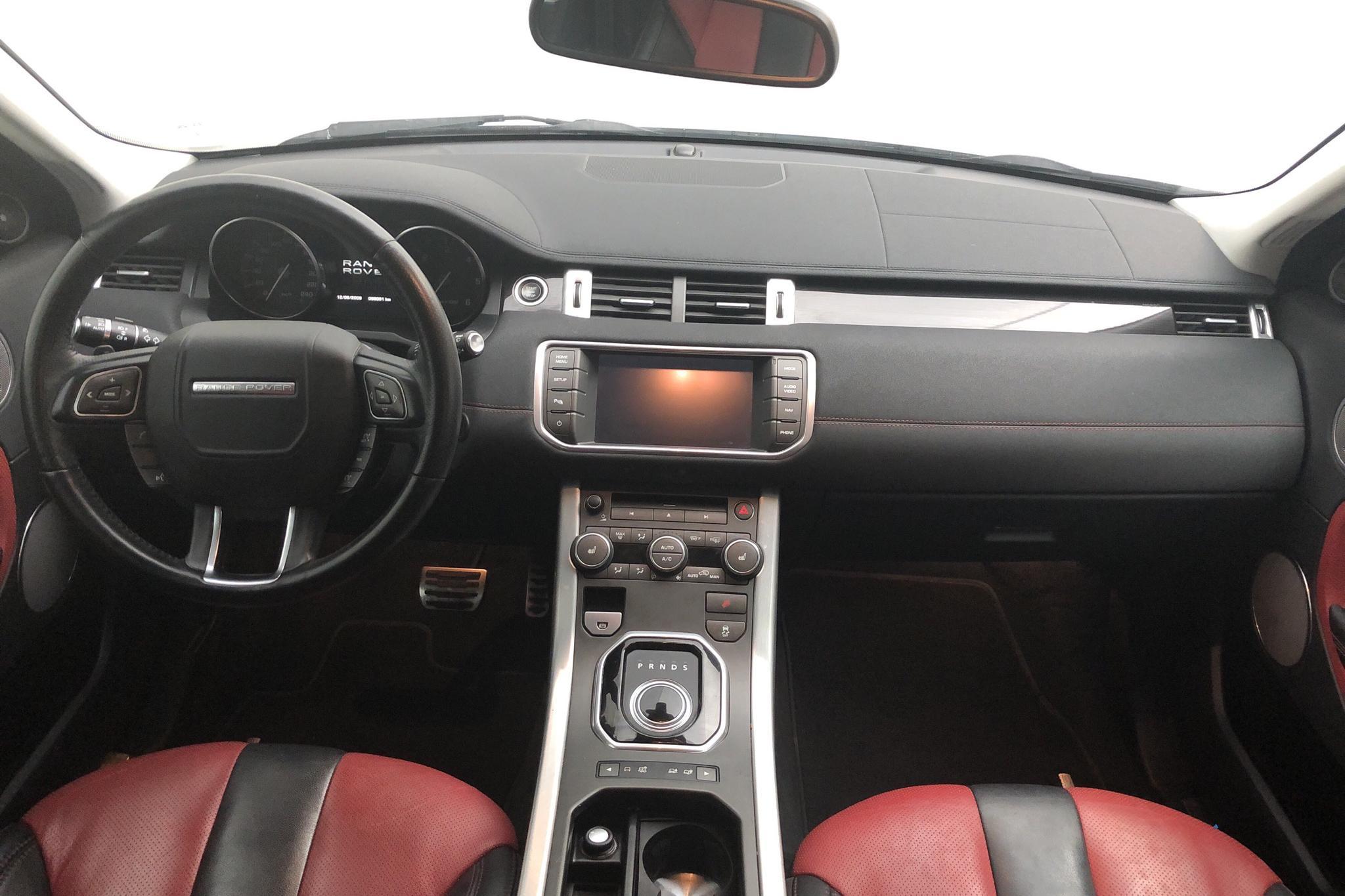 Land Rover Range Rover Evoque 2.2 SD4 5dr (190hk) - 9 809 mil - Automat - vit - 2013