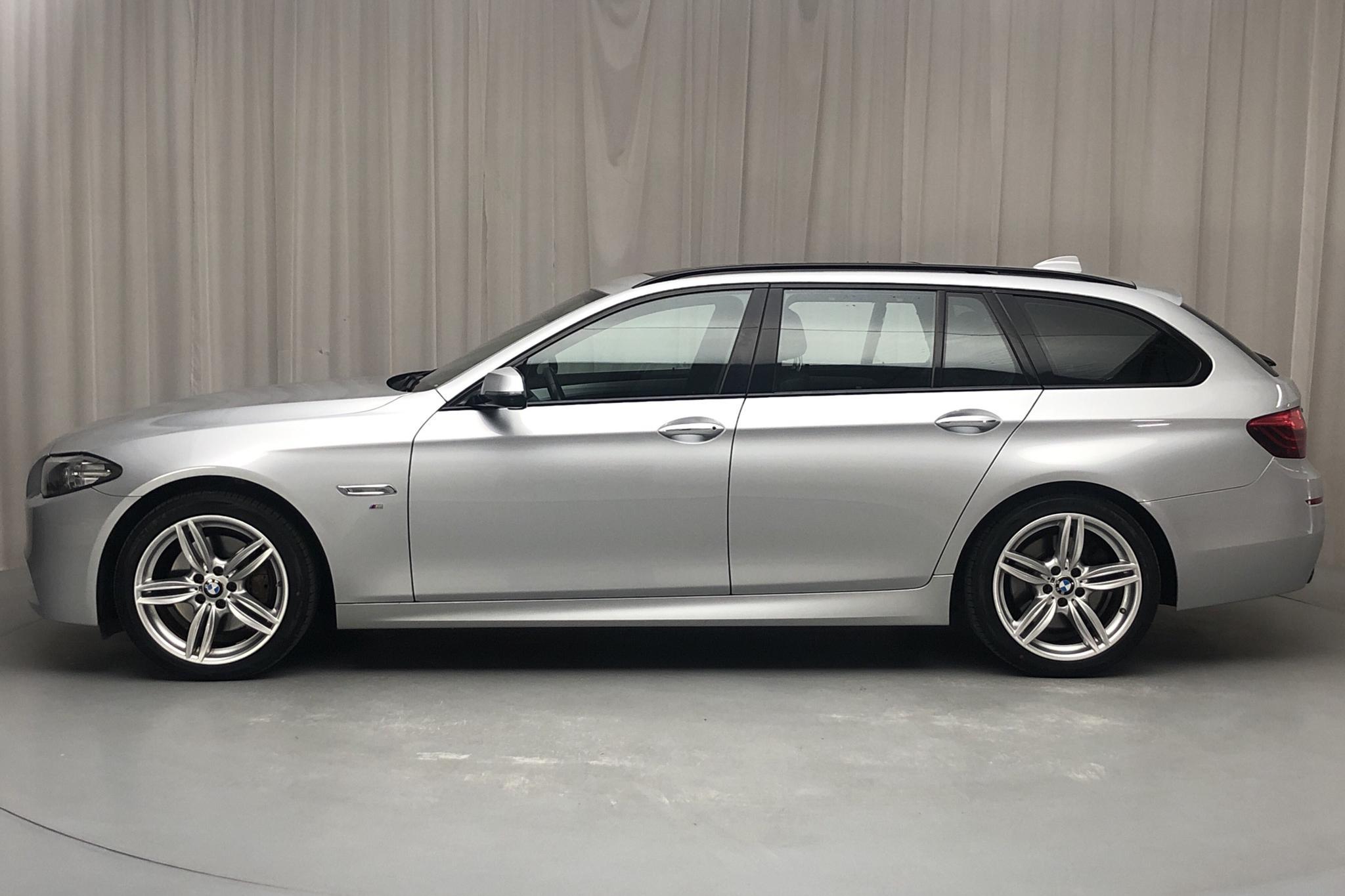 BMW 530d xDrive Touring, F11 (258hk) - 84 330 km - Automatic - silver - 2015