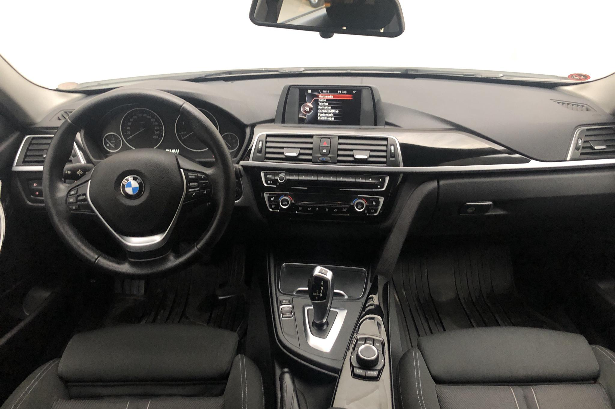 BMW 320d Touring, F31 (190hk) - 91 260 km - Automatic - white - 2016