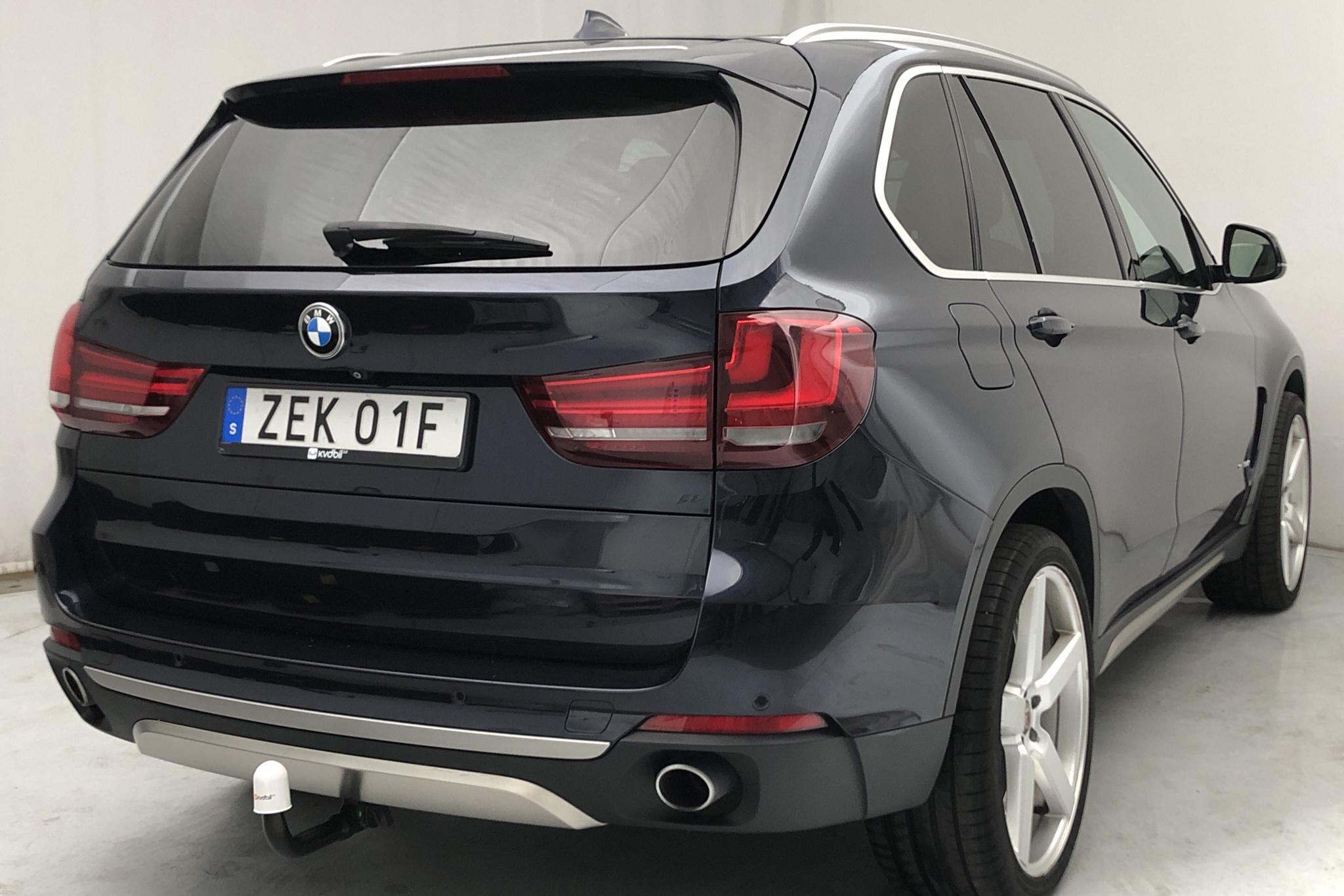 BMW X5 xDrive30d, F15 (258hk) - 177 530 km - Automatic - Dark Blue - 2015
