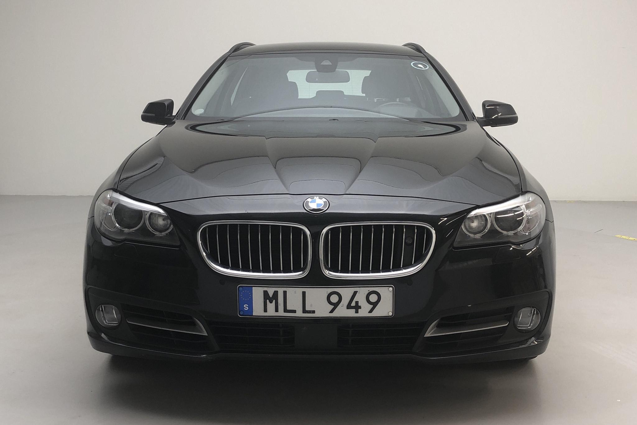 BMW 535d xDrive Touring, F11 (313hk) - 178 010 km - Automatic - black - 2014