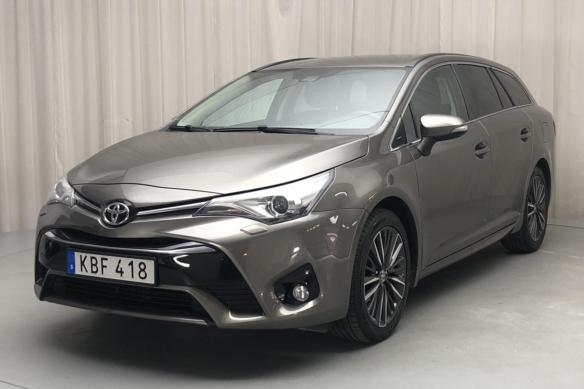 Toyota Avensis 1.8 Touring Sports (147hk) - 6 302 mil - Manuell - Dark Grey - 2018