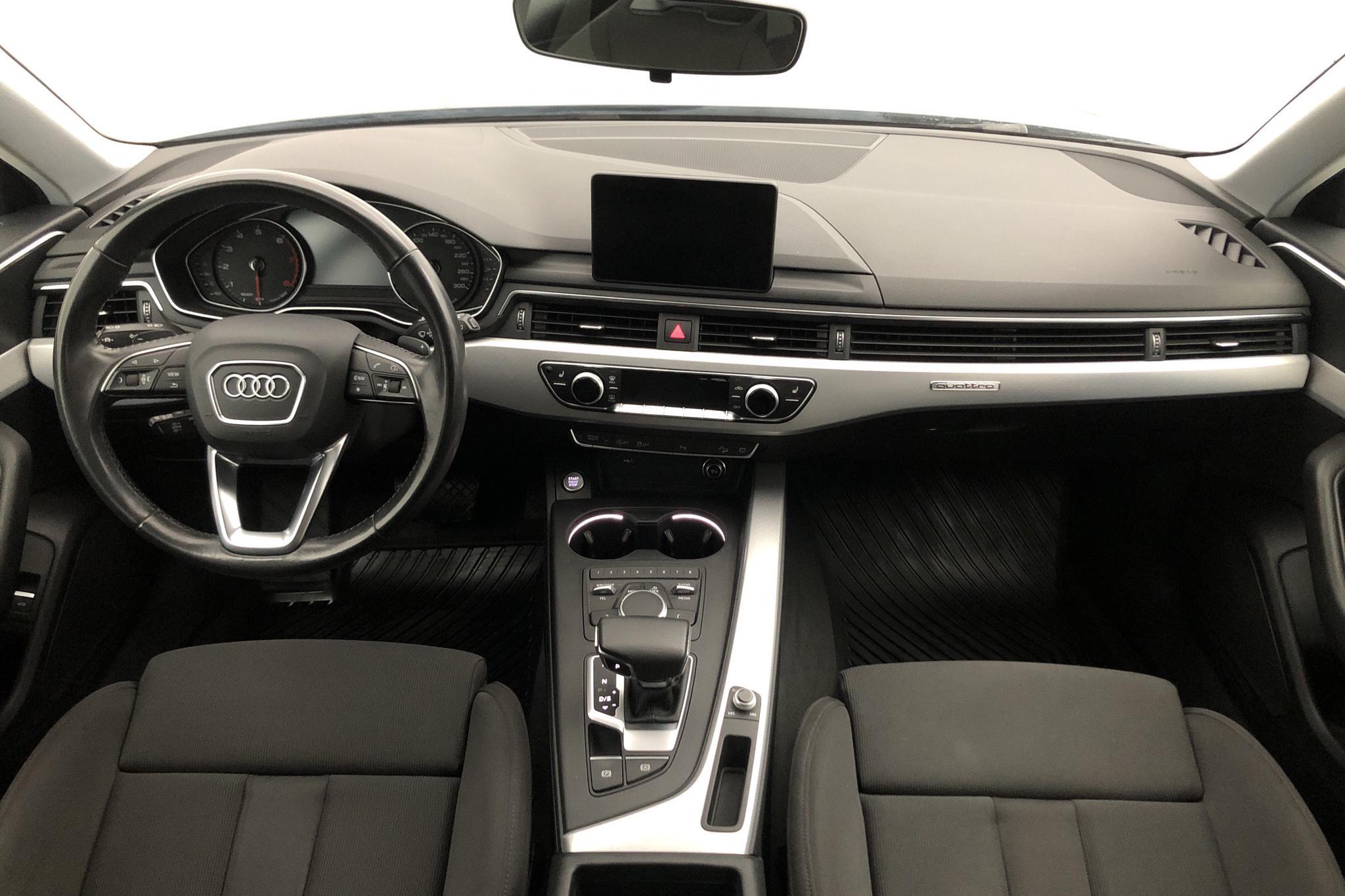 Audi A4 Allroad 2.0 TFSI quattro (252hk) - 153 060 km - Automatic - gray - 2018