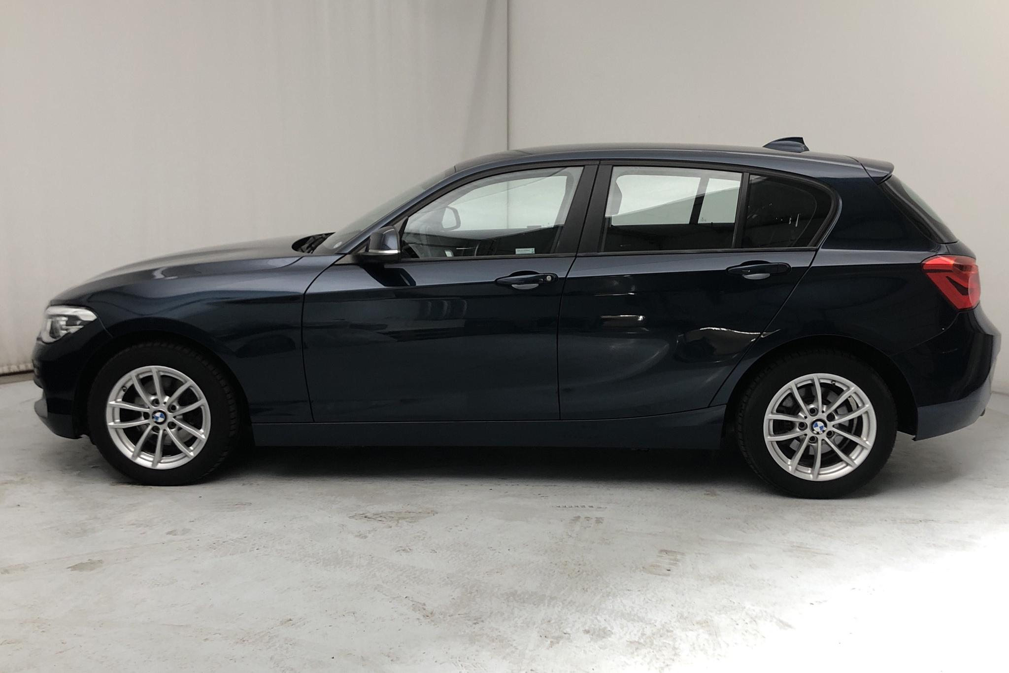 BMW 118d xDrive 5dr, F20 (150hk) - 27 090 km - Manual - blue - 2017