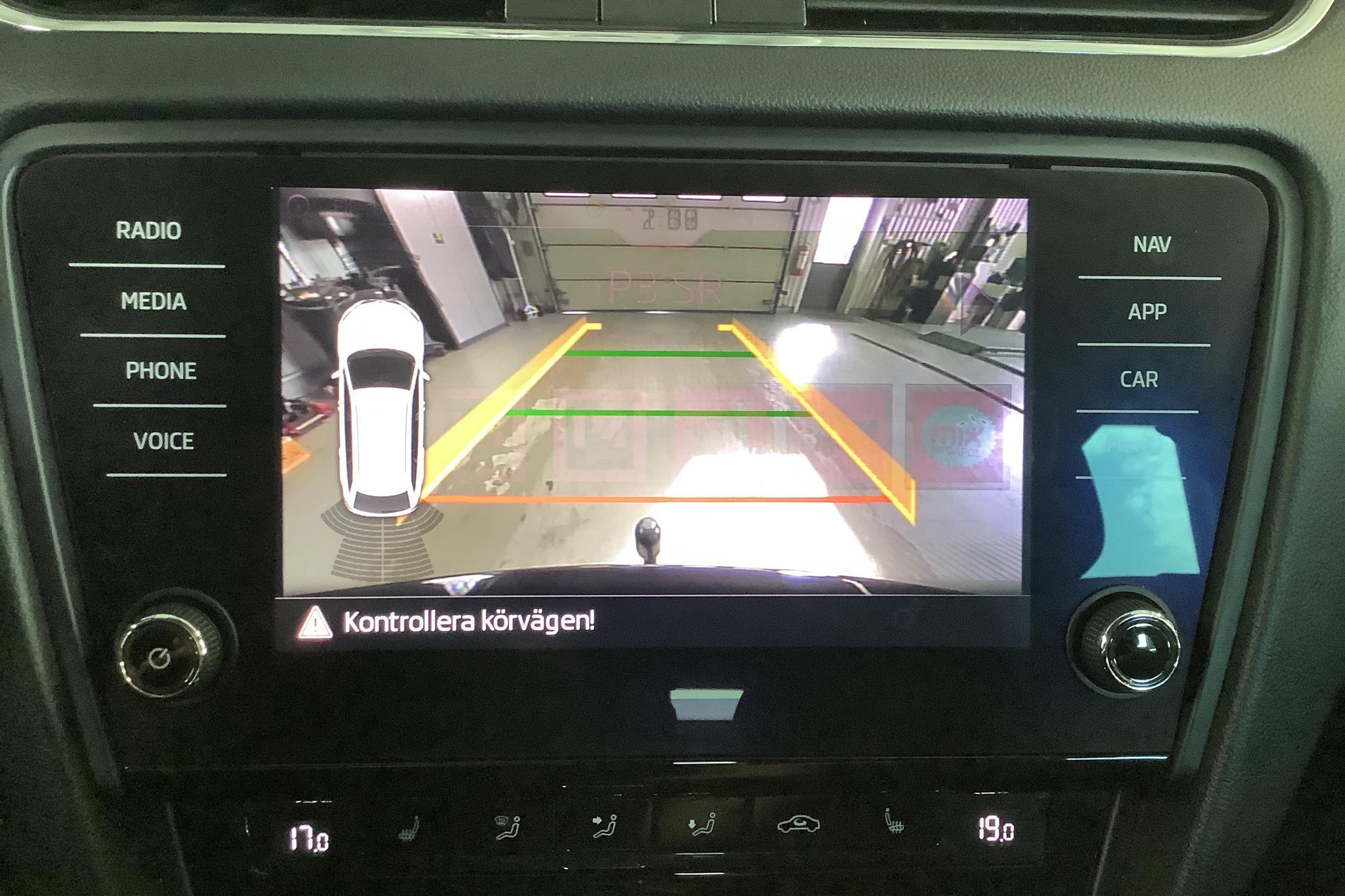 Skoda Octavia III 2.0 TDI Combi 4x4 (150hk) - 154 160 km - Automatic - black - 2018