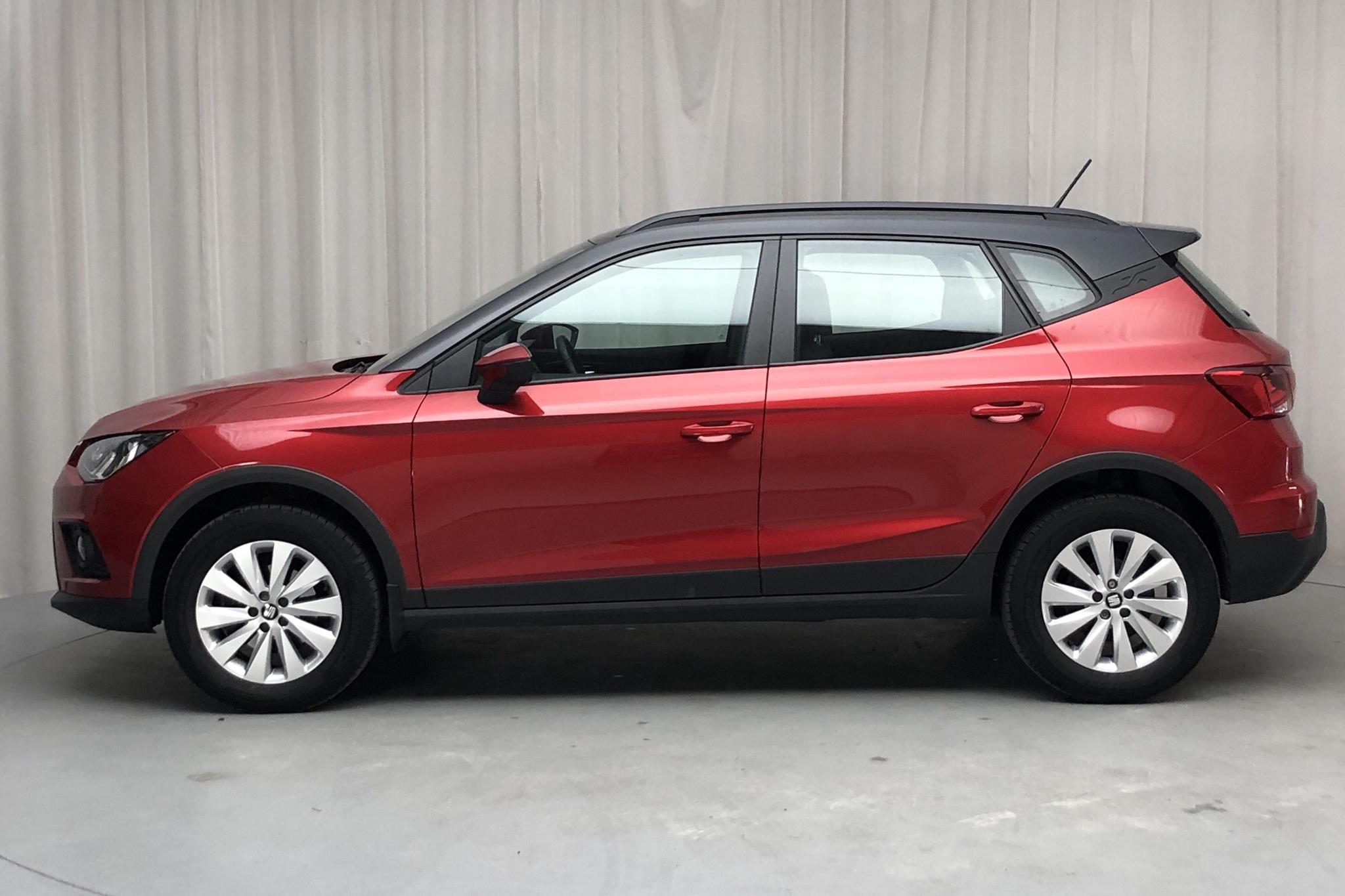 Seat Arona 1.0 TSI 5dr (95hk) - 30 370 km - Manual - red - 2018