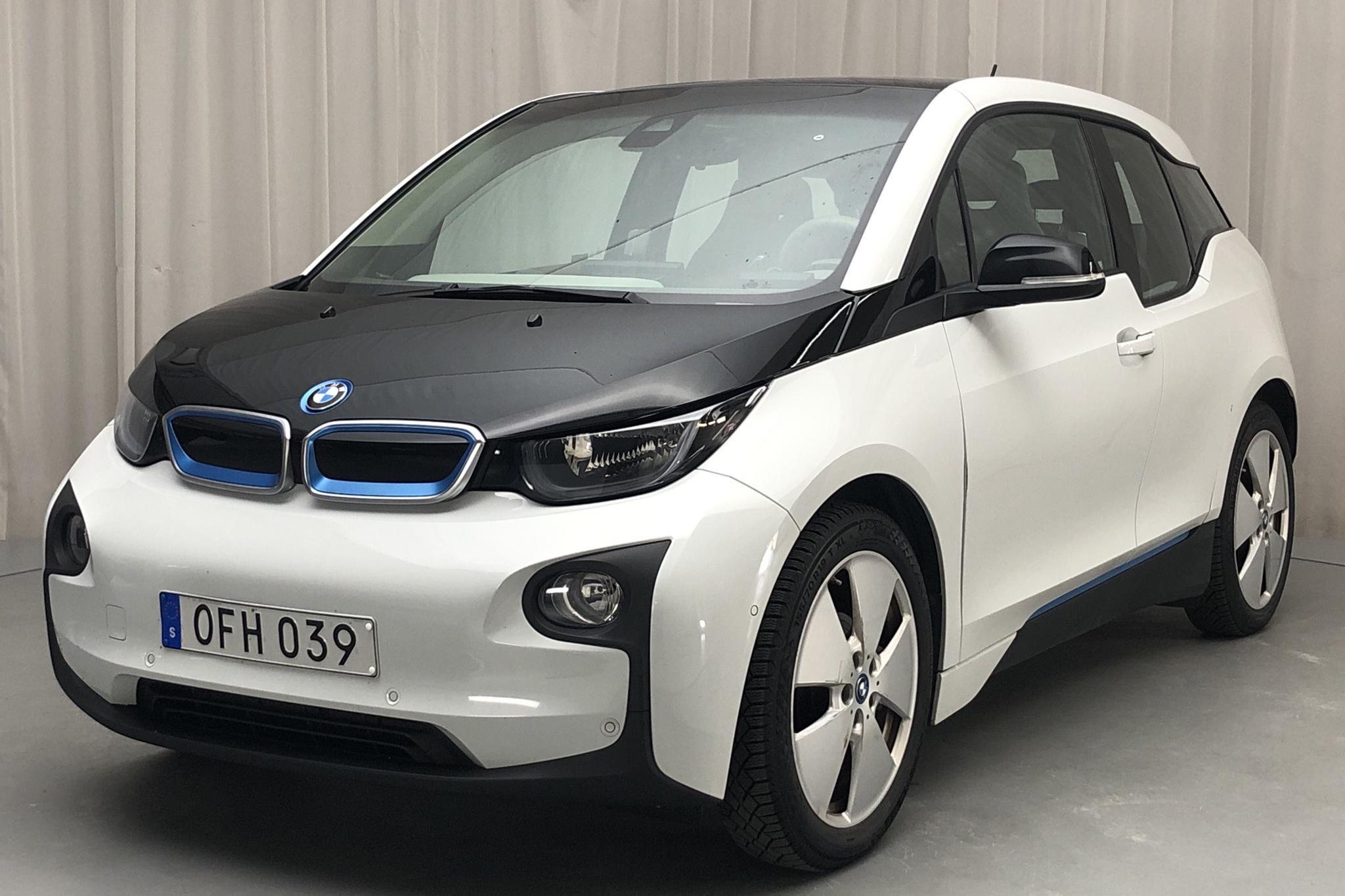 BMW i3 REX 94Ah, I01 (170hk) - 91 690 km - Automatic - white - 2017