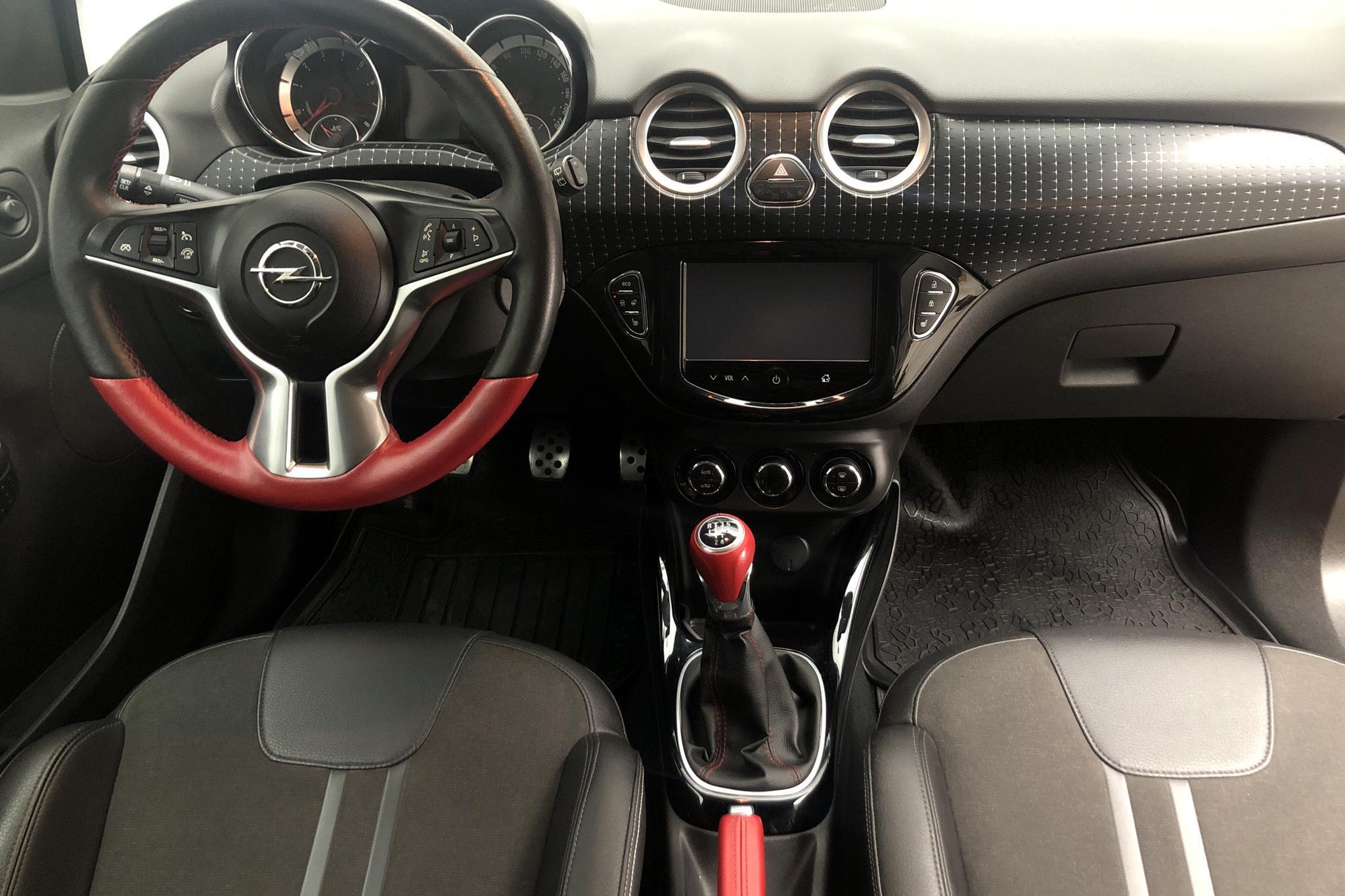Opel ADAM 1.4 ECOTEC (100hk) - 4 755 mil - Manuell - röd - 2014