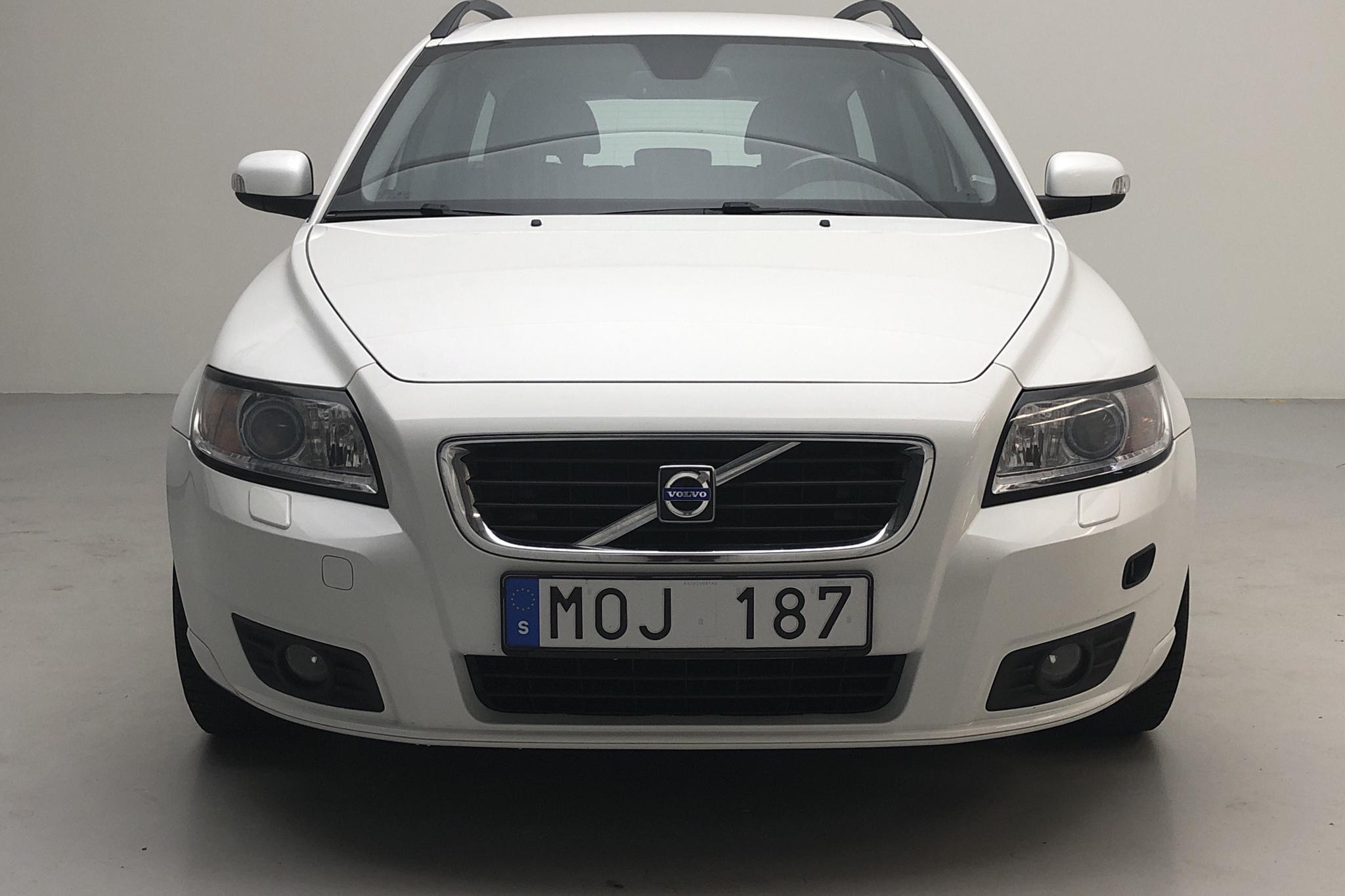 Volvo V50 1.8F (125hk) - 13 664 mil - Manuell - vit - 2009