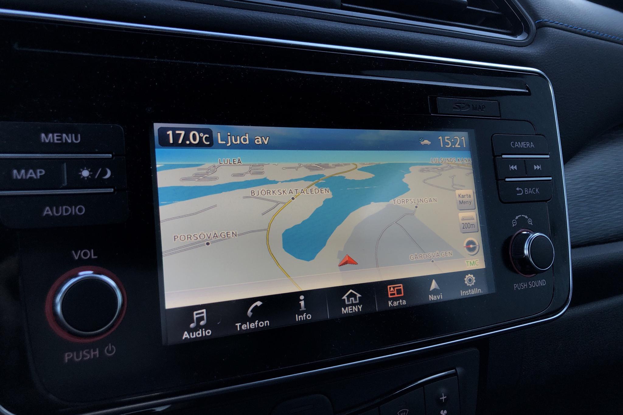 Nissan LEAF 5dr 40 kWh (150hk) - 2 871 mil - Automat - svart - 2019