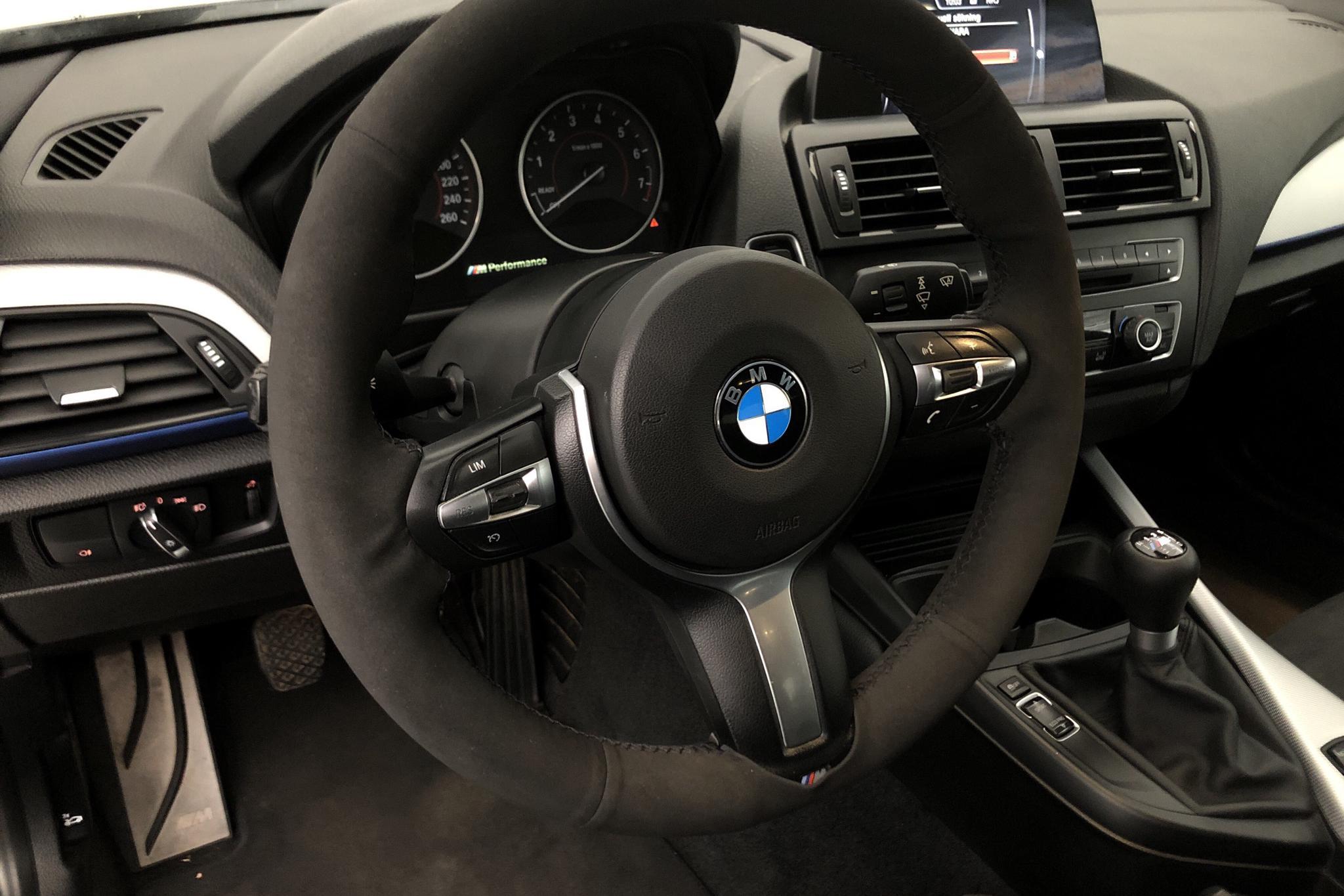 BMW M235i Coupé, F22 (326hk) - 158 480 km - Manual - black - 2015