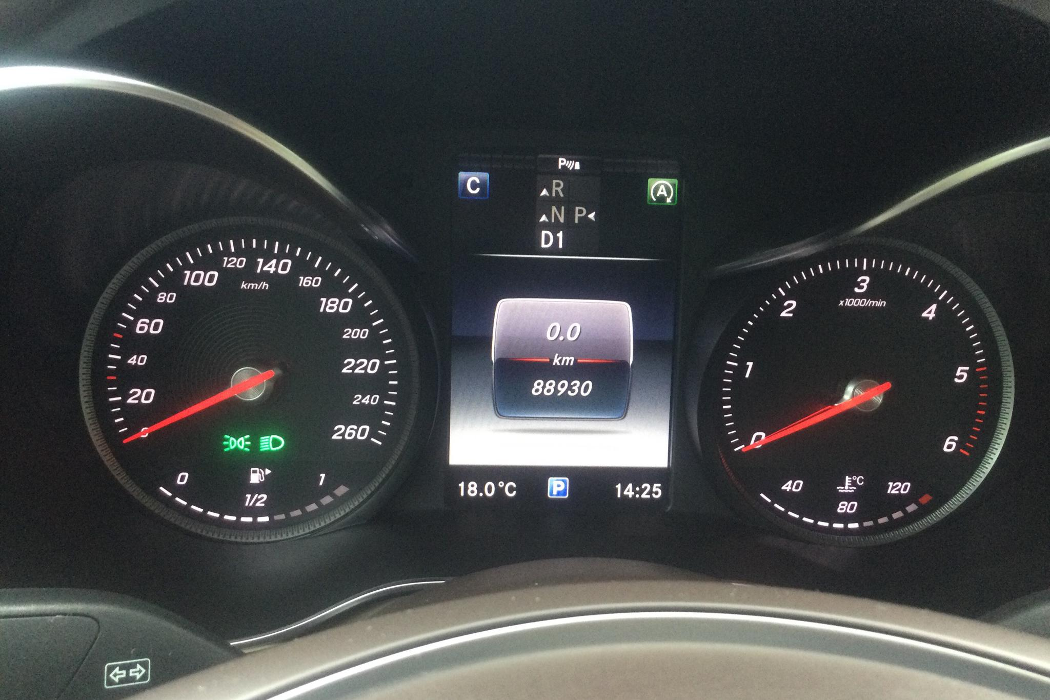 Mercedes GLC 250 d 4MATIC Coupé C253 (204hk) - 88 930 km - Automatic - gray - 2017