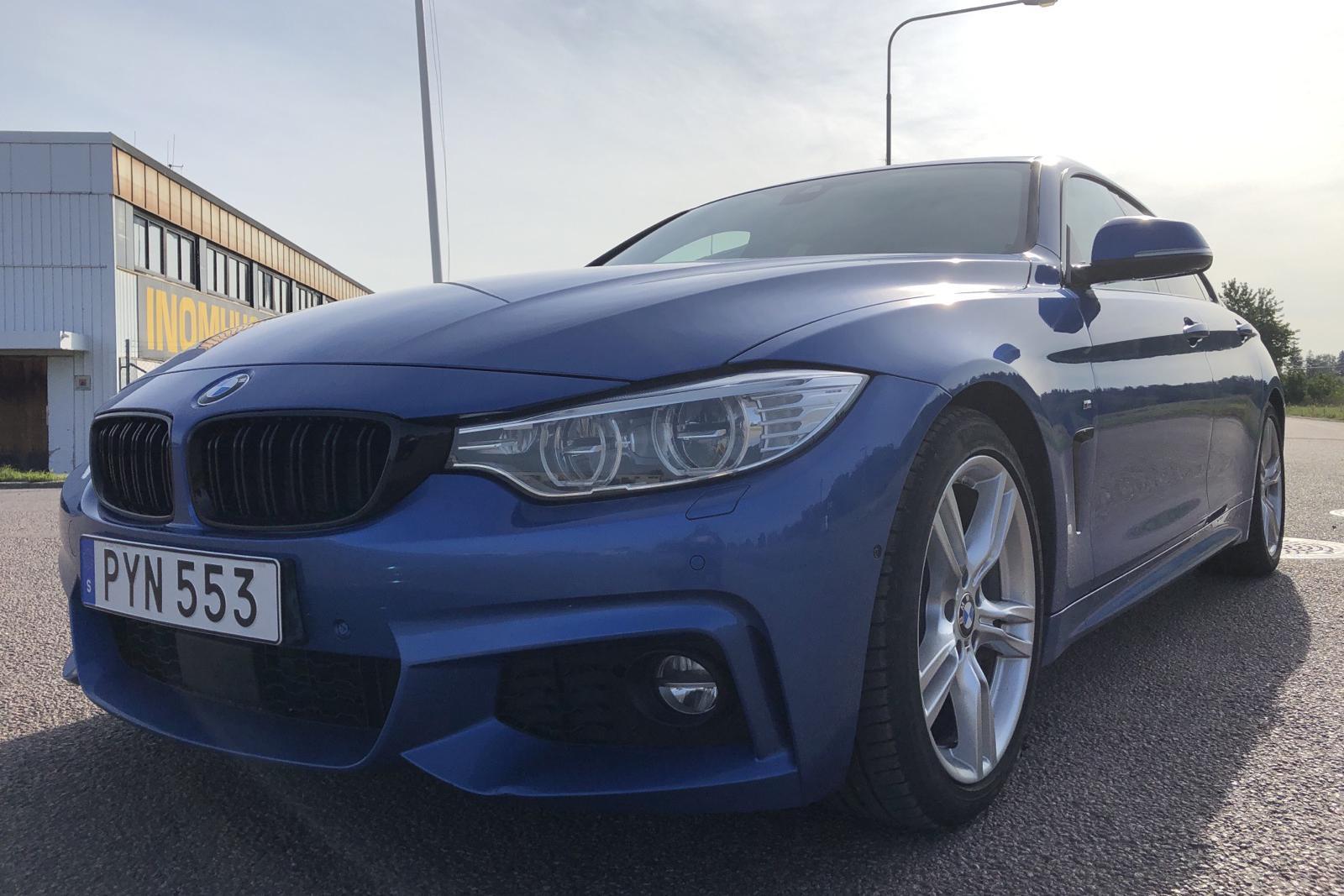 BMW 430i xDrive Gran Coupé, F36 (252hk) - 140 070 km - Automatic - blue - 2016