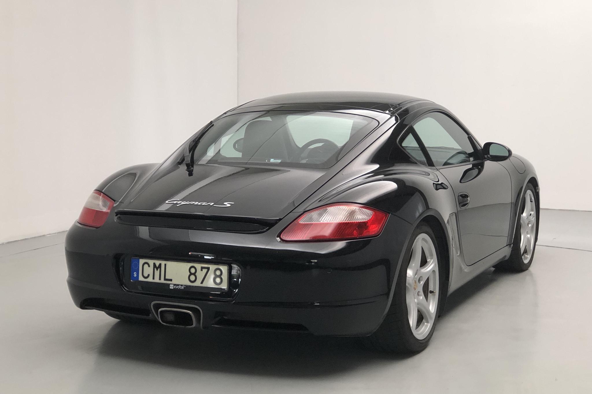 Porsche Cayman 3.4 S (295hk) - 127 360 km - Automatic - black - 2006