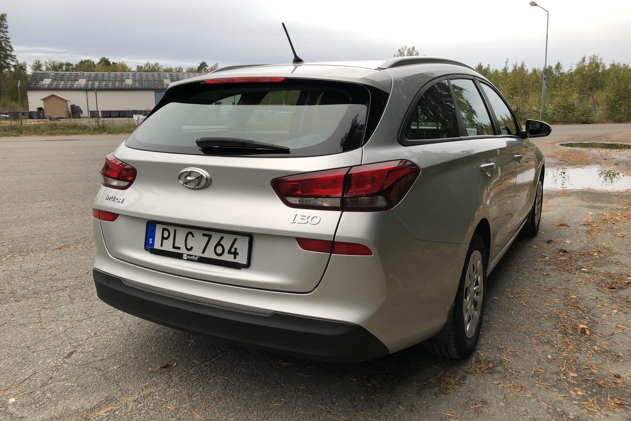 Hyundai i30 1.0 Turbo Kombi (120hk) - 6 100 mil - Manuell - silver - 2018