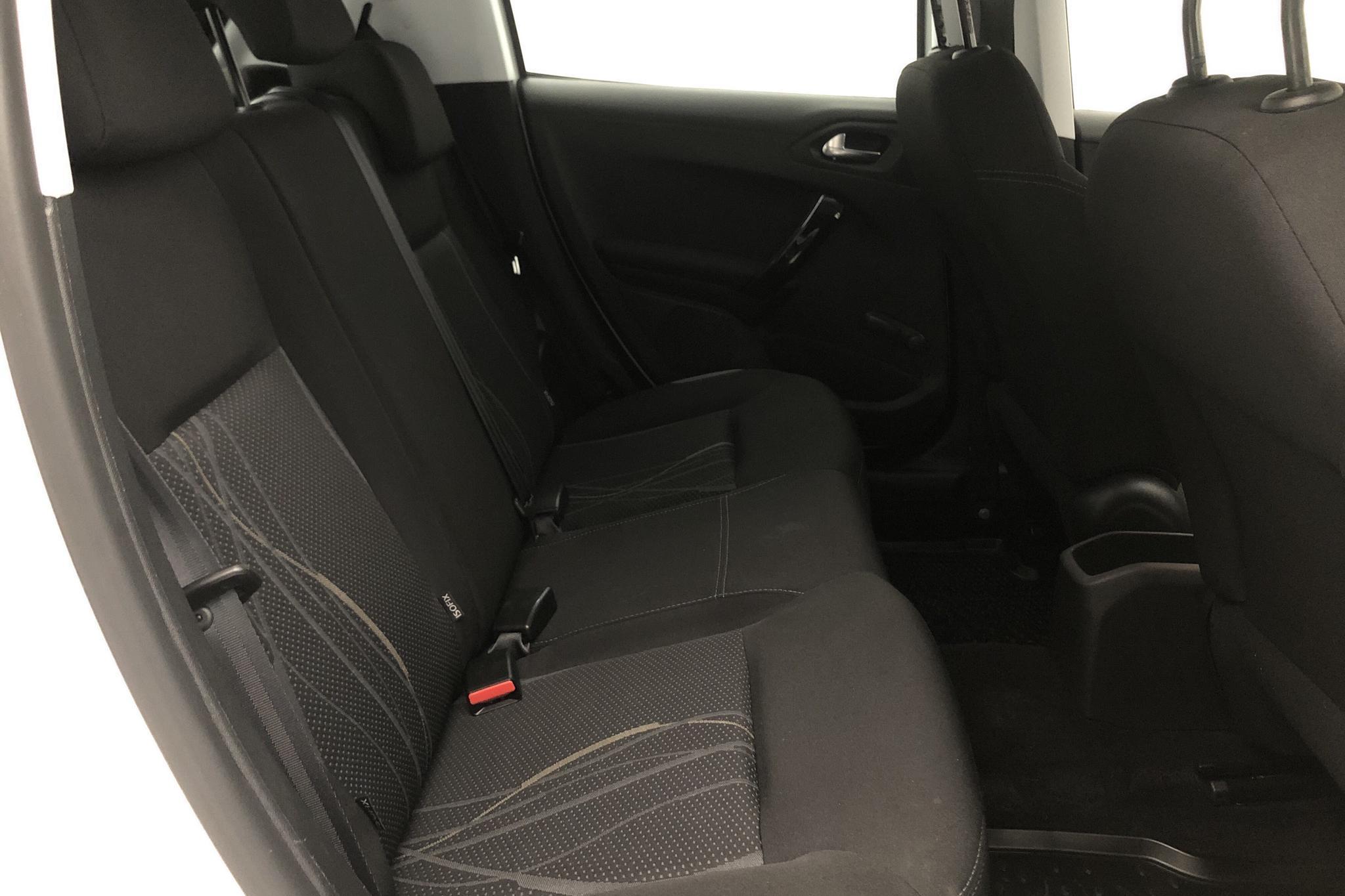 Peugeot 208 1.2 VTi 5dr (82hk) - 6 888 mil - Manuell - vit - 2015