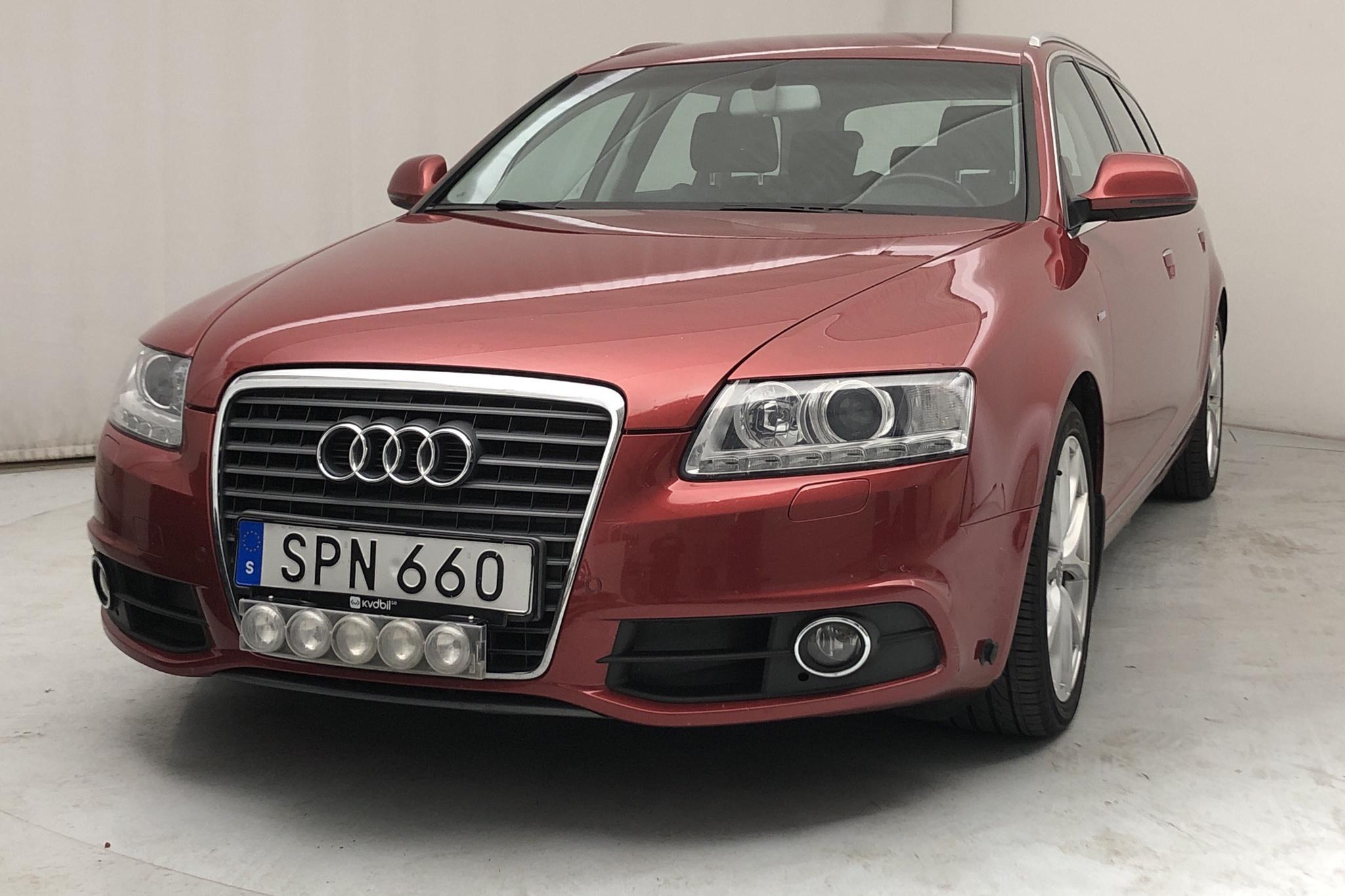 Audi A6 2.0 TDIe Avant (136hk) - 11 619 mil - Manuell - röd - 2011