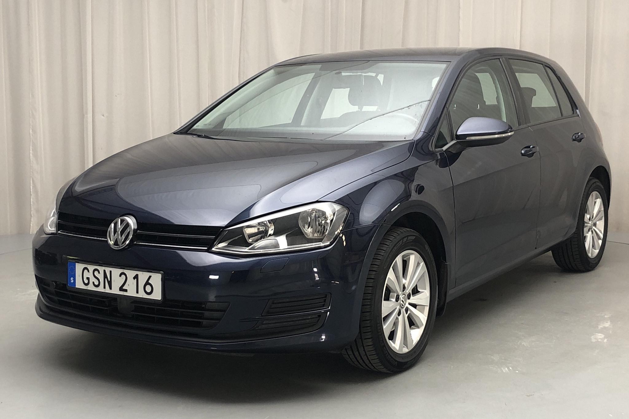 VW Golf VII 1.2 TSI 5dr (110hk) - 5 670 mil - Manuell - Dark Blue - 2016