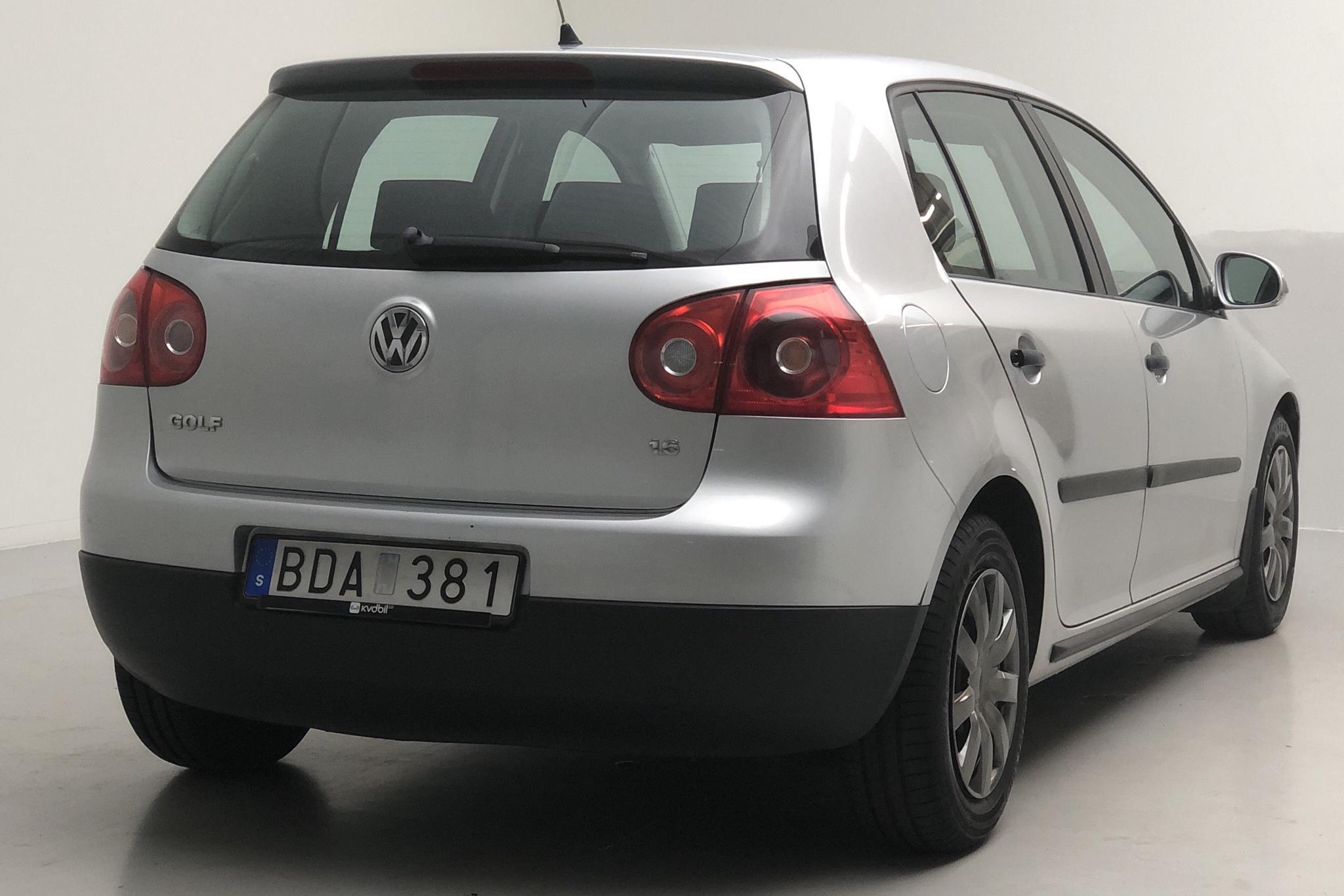 VW Golf A5 1.6 5dr (102hk) - 12 074 mil - Manuell - silver - 2006