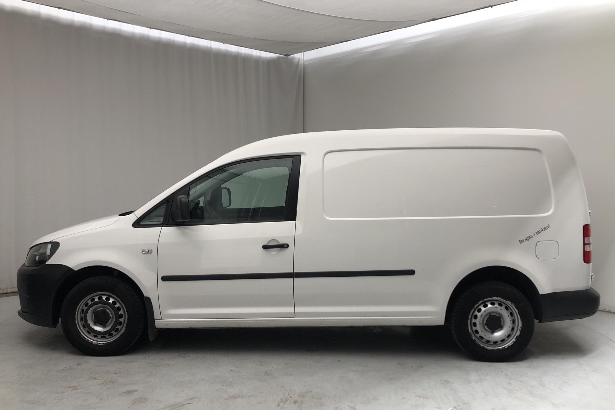 VW Caddy 2.0 Ecofuel Maxi Skåp (109hk) - 8 374 mil - Manuell - 2013