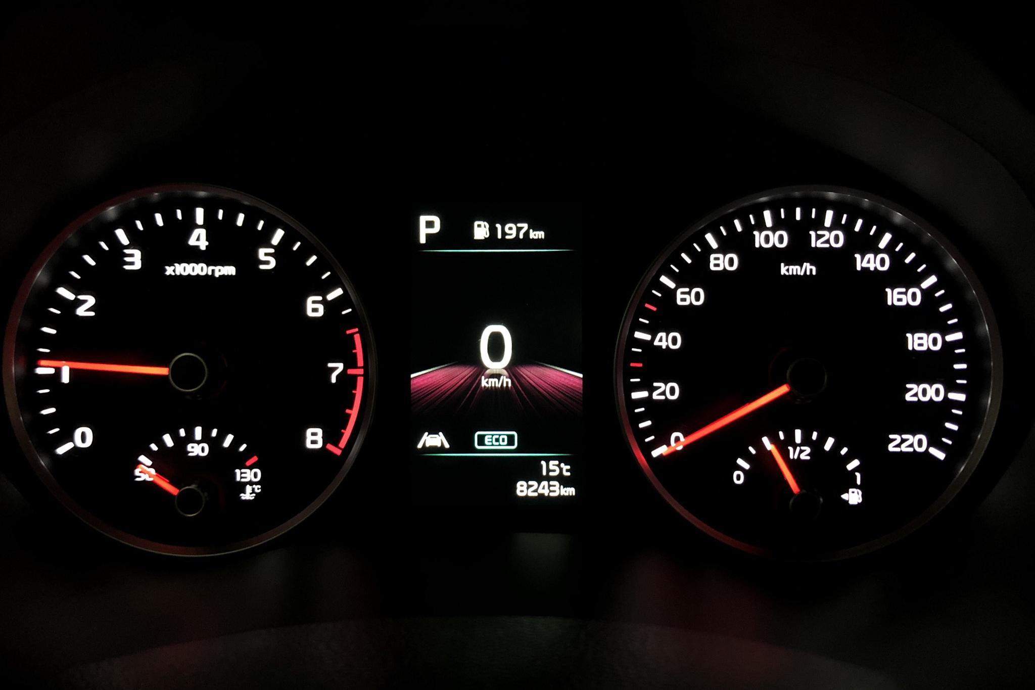 KIA Rio 1.0 T-GDi 48V (120hk) - 8 240 km - Automatic - red - 2021