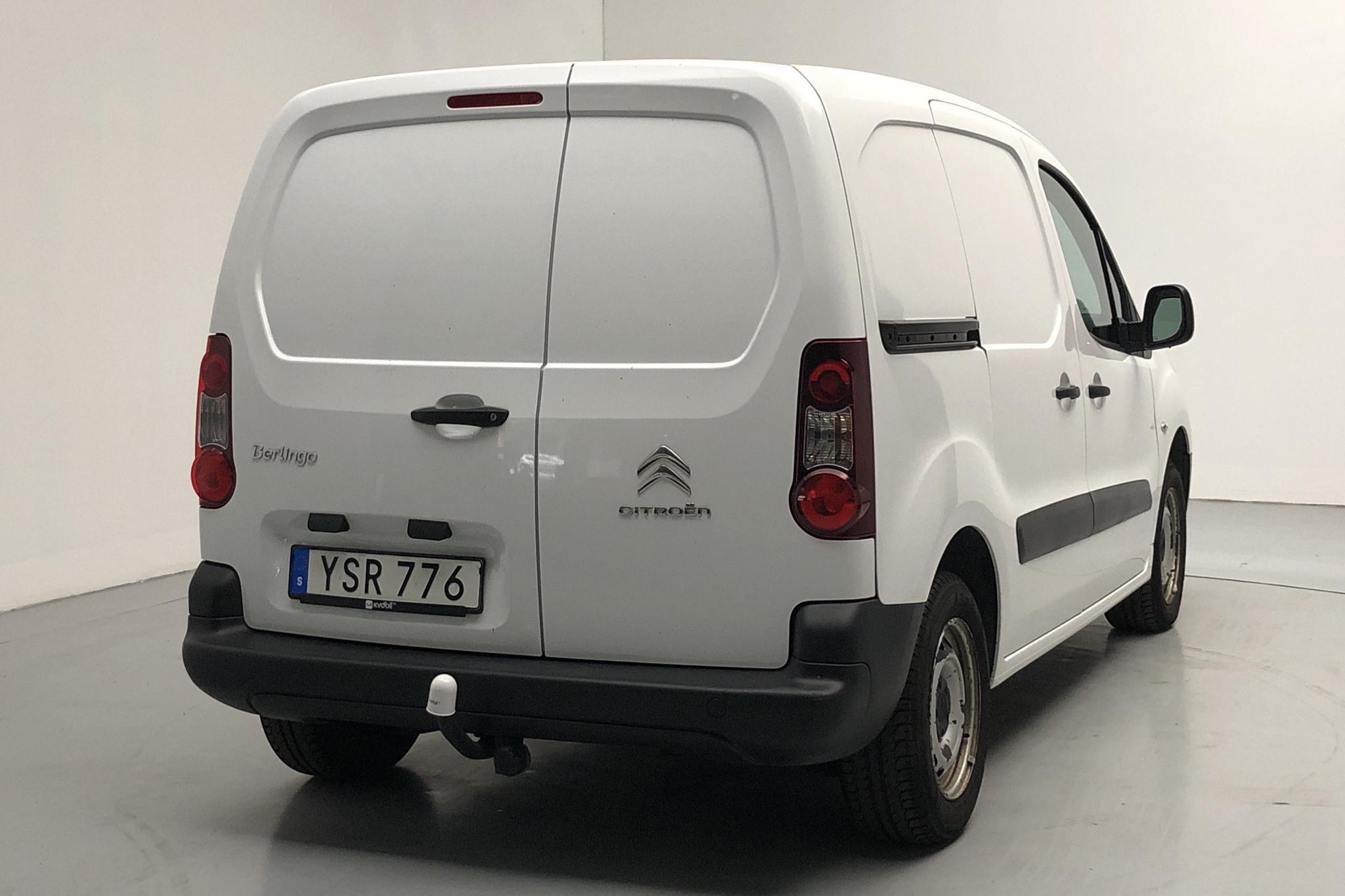 Citroen Berlingo 1.6 BlueHDi Skåp (75hk) - 7 100 mil - Manuell - vit - 2018