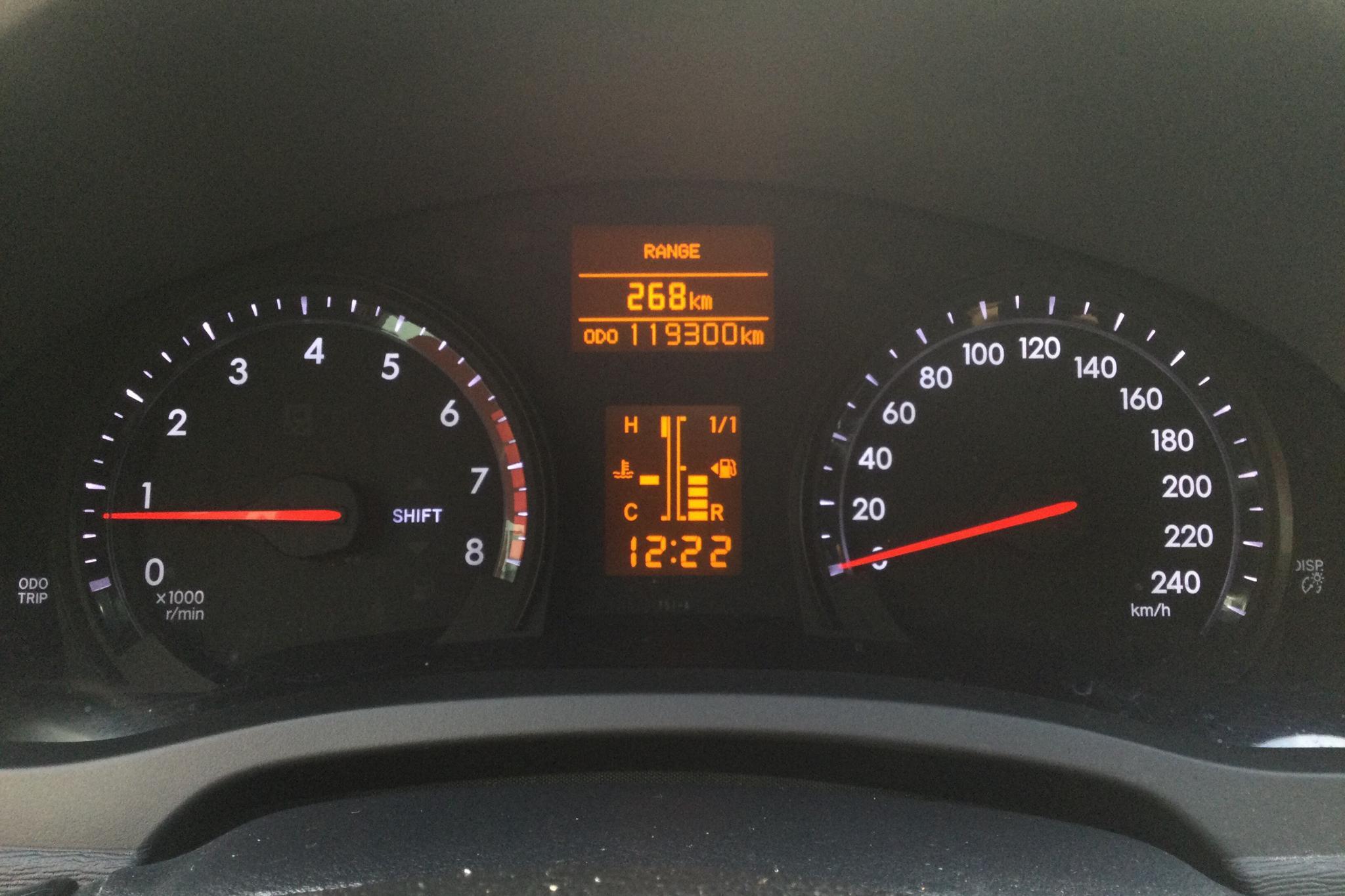 Toyota Avensis 2.0 Kombi (152hk) - 119 300 km - Manual - Light Grey - 2013