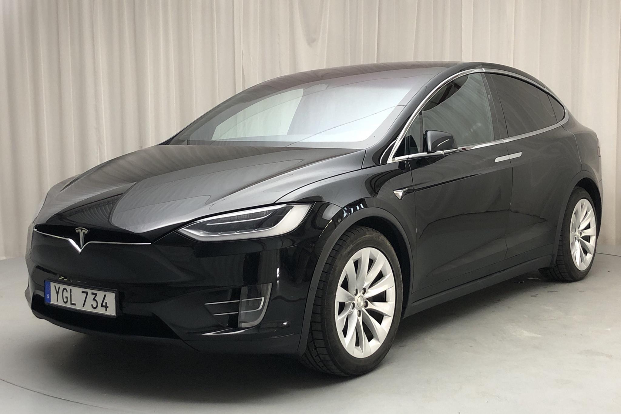 Tesla Model X 90D - 11 570 mil - Automat - svart - 2017