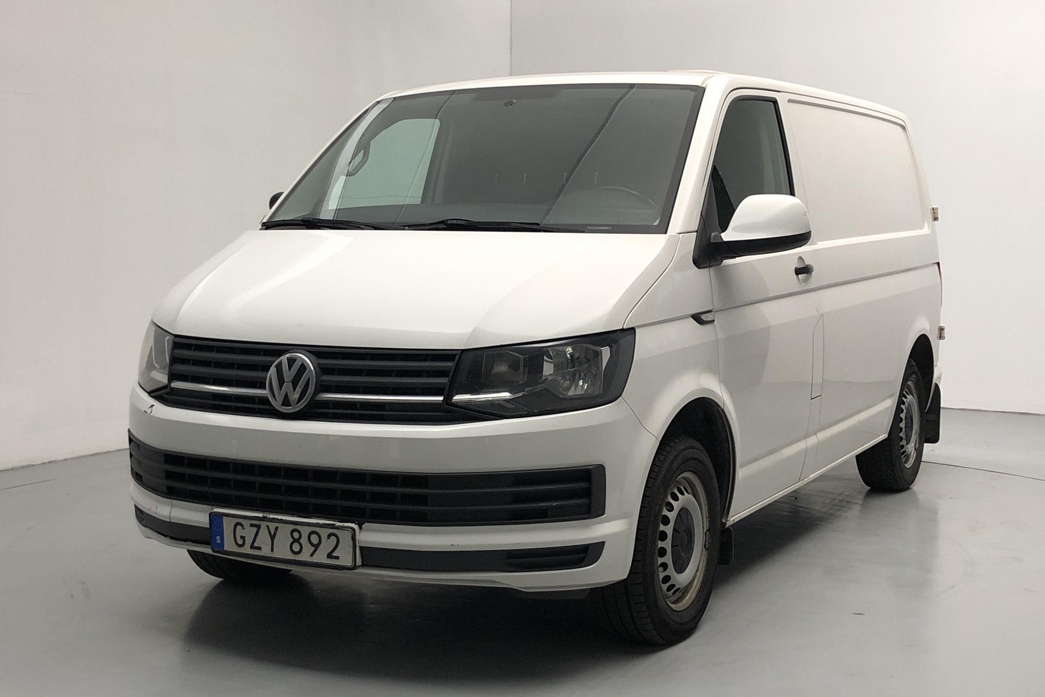 VW Transporter T6 2.0 TDI BMT Skåp (102hk) - 16 950 mil - Manuell - vit - 2016
