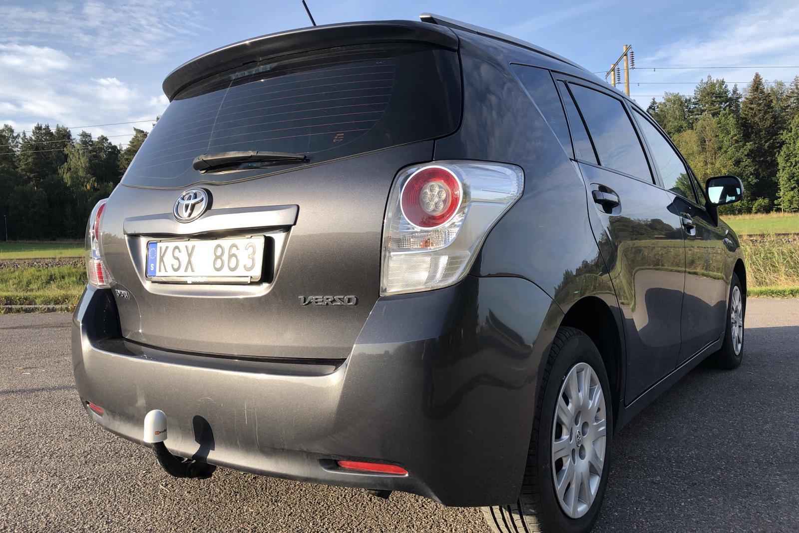 Toyota Verso 1.8 (147hk) - 194 600 km - Manual - Dark Grey - 2010