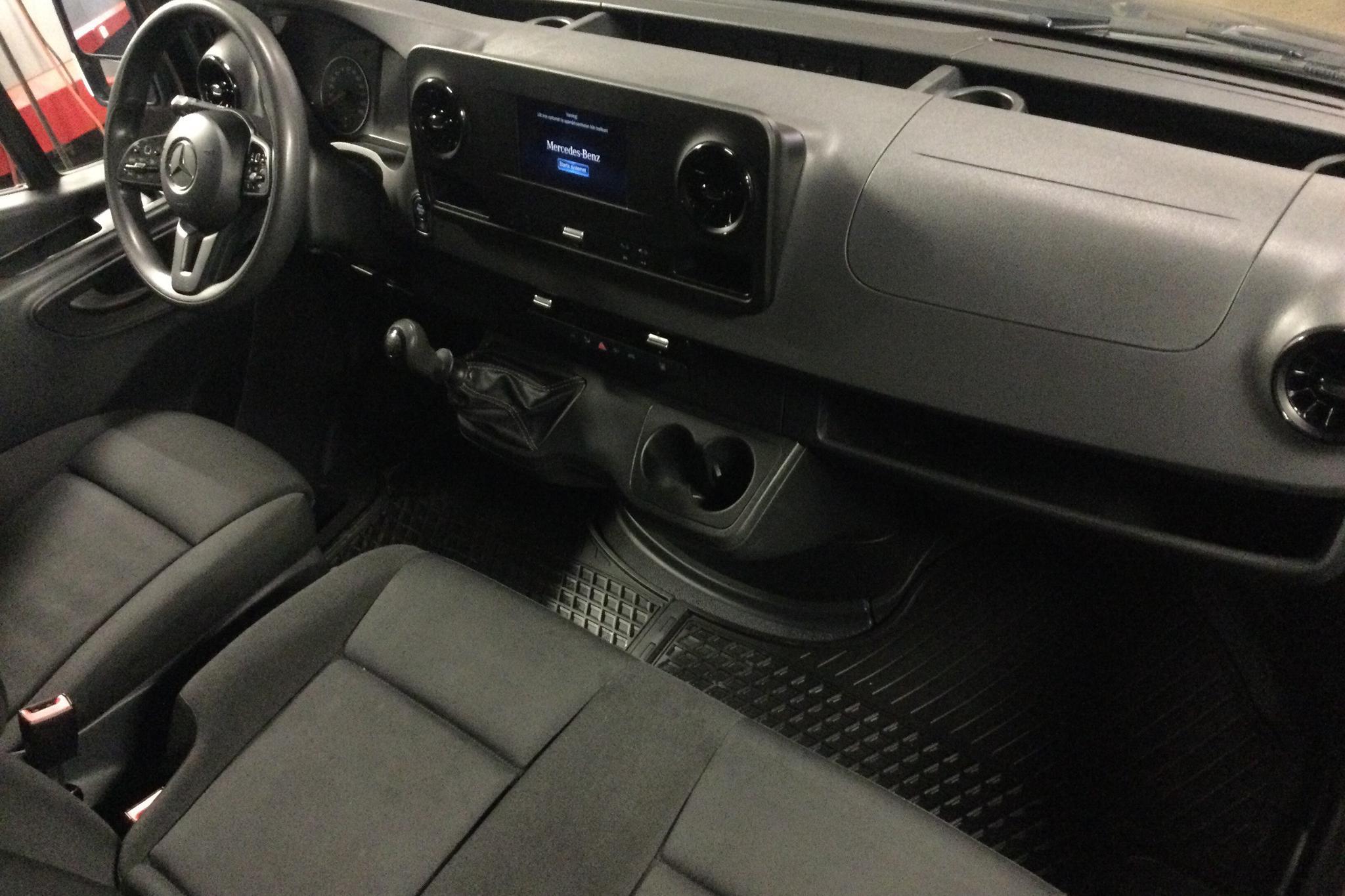 Mercedes Sprinter 211 CDI Skåp 2WD (114hk) - 52 500 km - Manual - gray - 2020