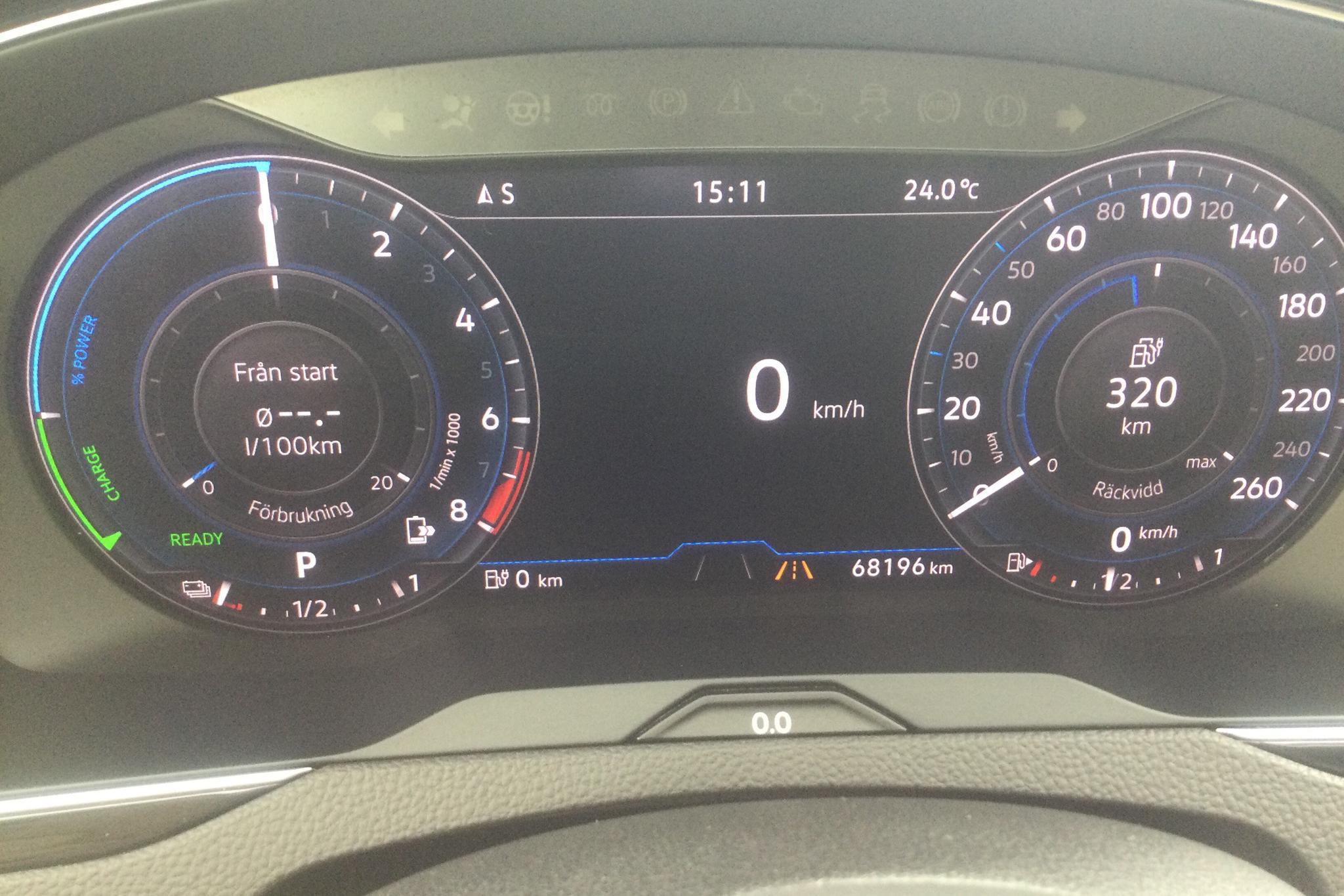 VW Passat 1.4 Plug-in-Hybrid Sportscombi (218hk) - 68 190 km - Automatic - white - 2018