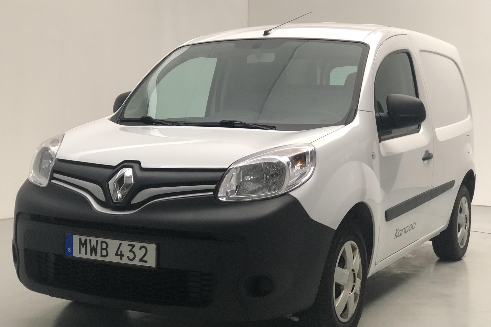 Renault Kangoo 1.5 dCi Skåp (75hk) - 6 562 mil - Manuell - vit - 2016