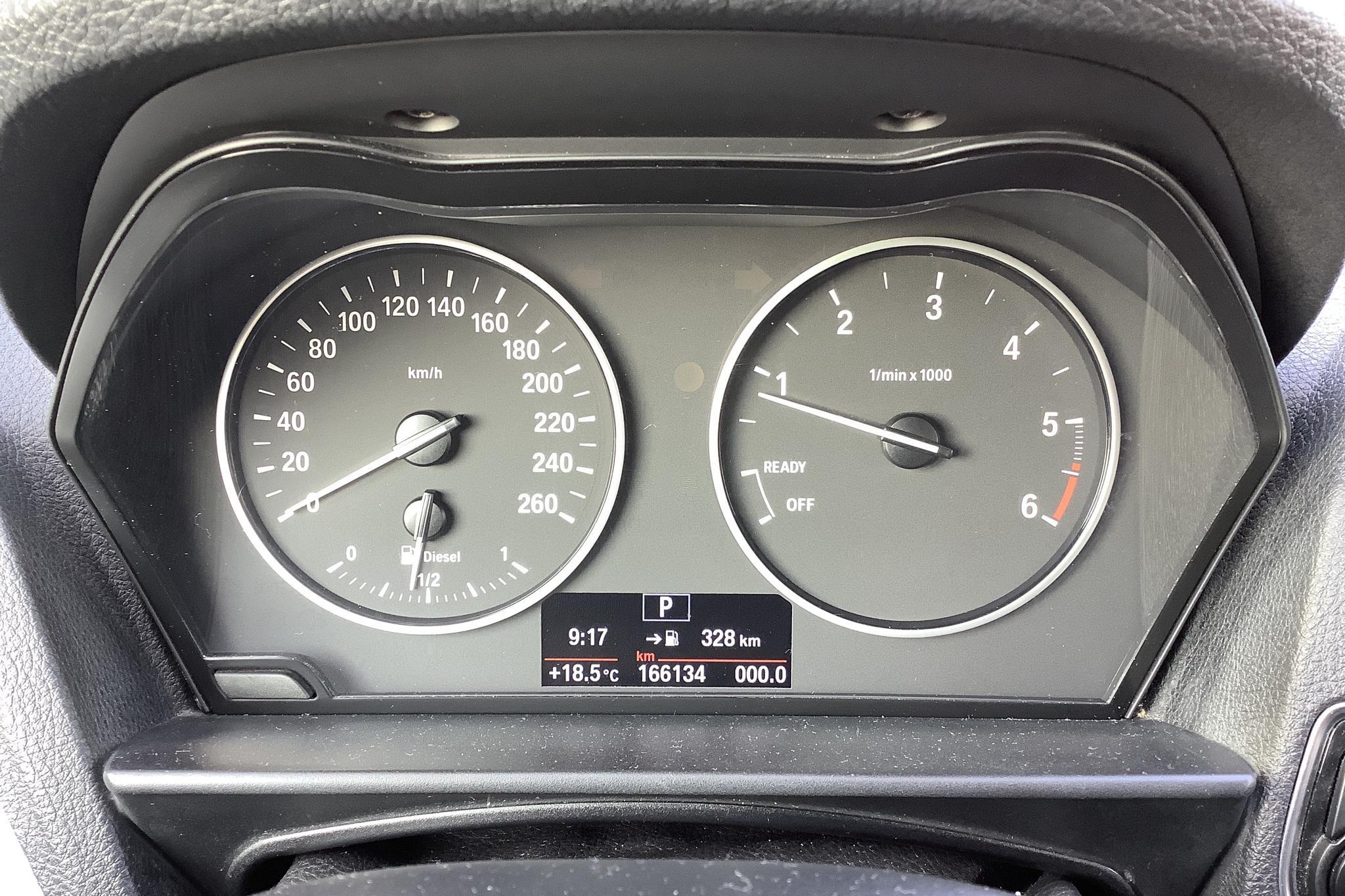 BMW 118d 5dr, F20 (143hk) - 16 614 mil - Automat - svart - 2012