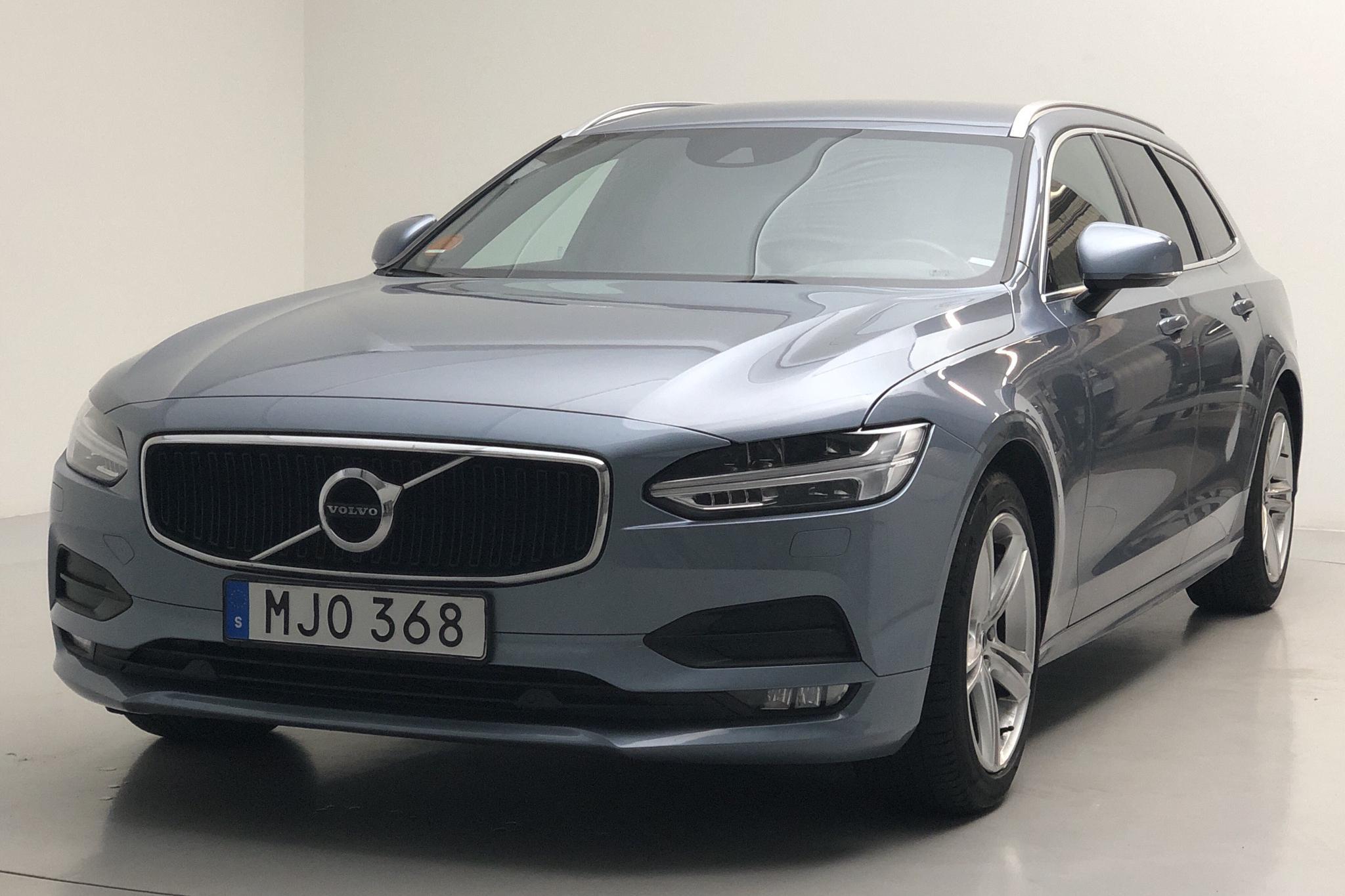 Volvo V90 T4 (190hk) - 6 339 mil - Automat - Light Blue - 2019