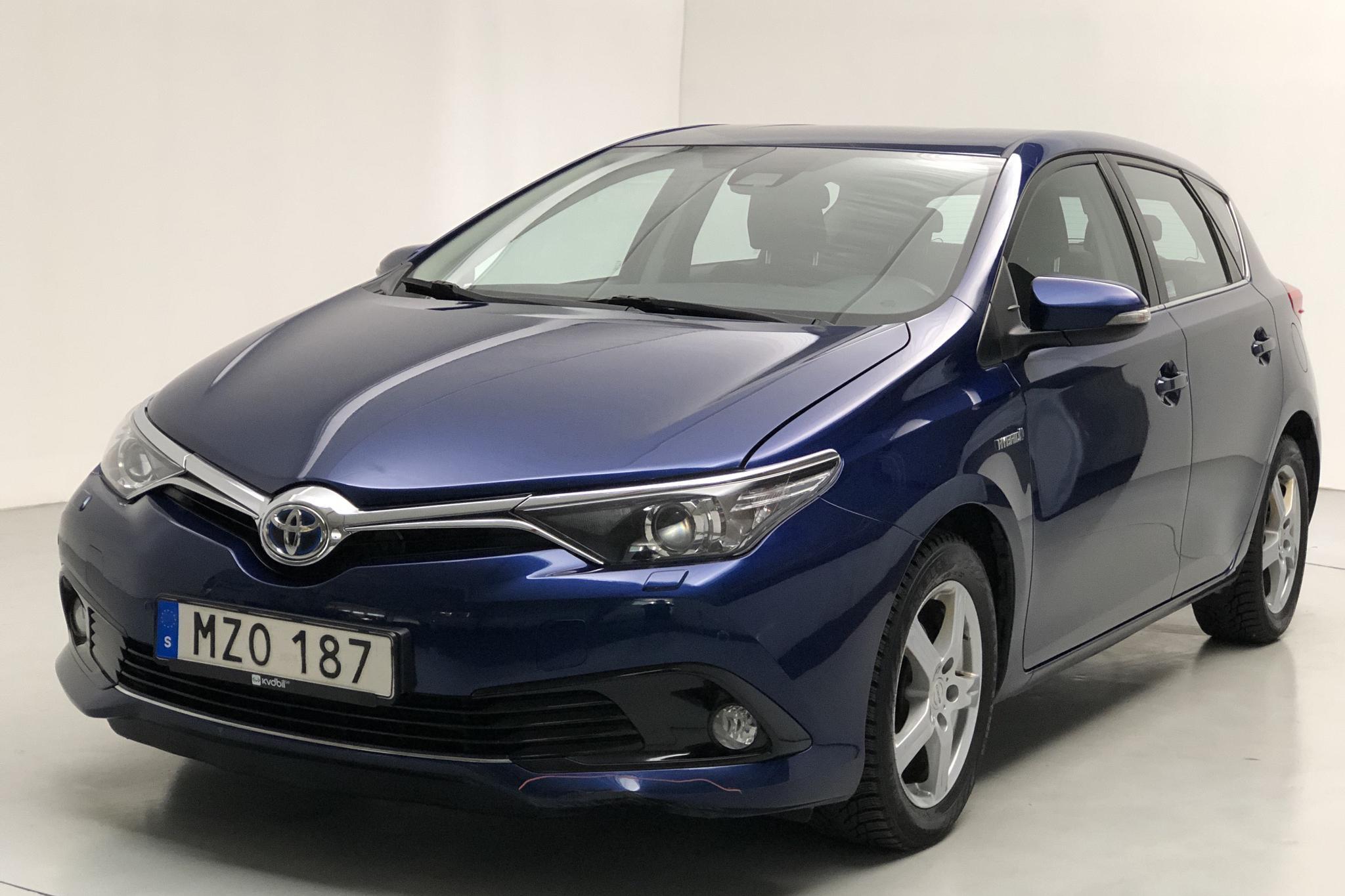 Toyota Auris 1.8 HSD 5dr (99hk) - 10 743 mil - Automat - Dark Blue - 2017